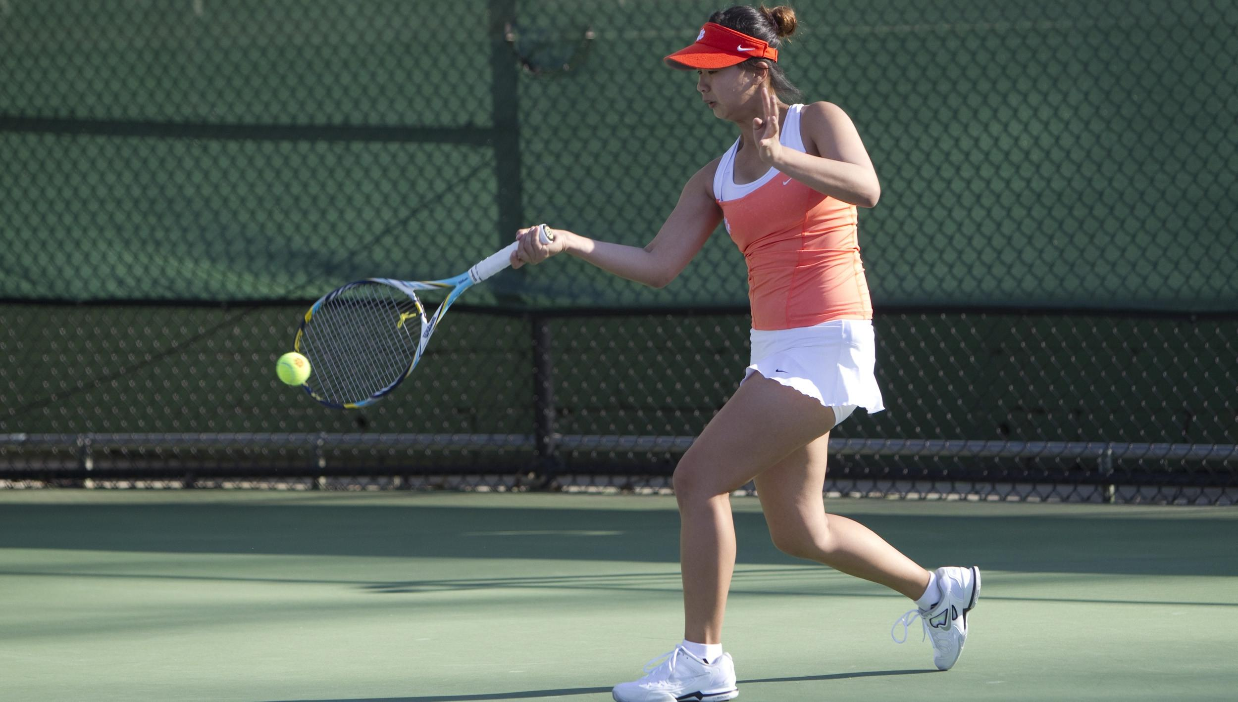 @ClemsonWTennis Puts Five into Singles Finals at RAFC