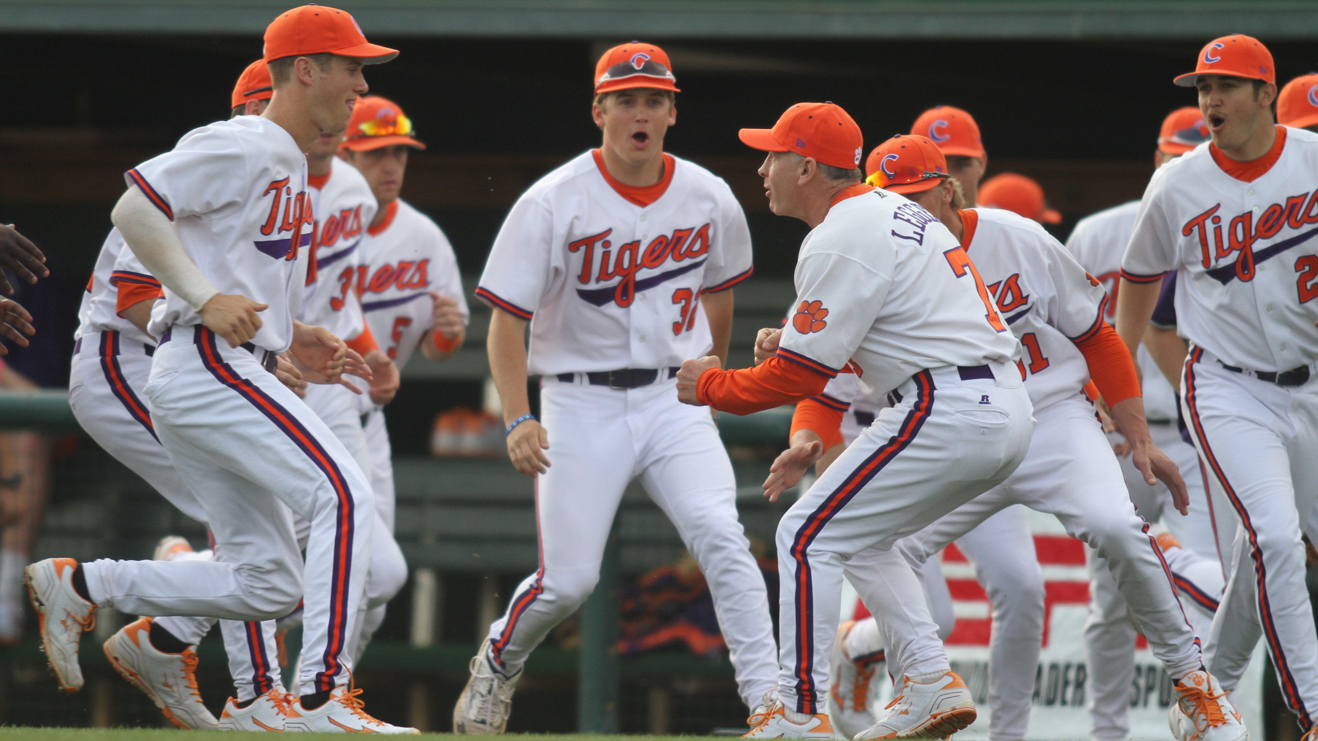 Six-Run Seventh Inning Propels Tigers to 7-5 Win at Boston College Friday