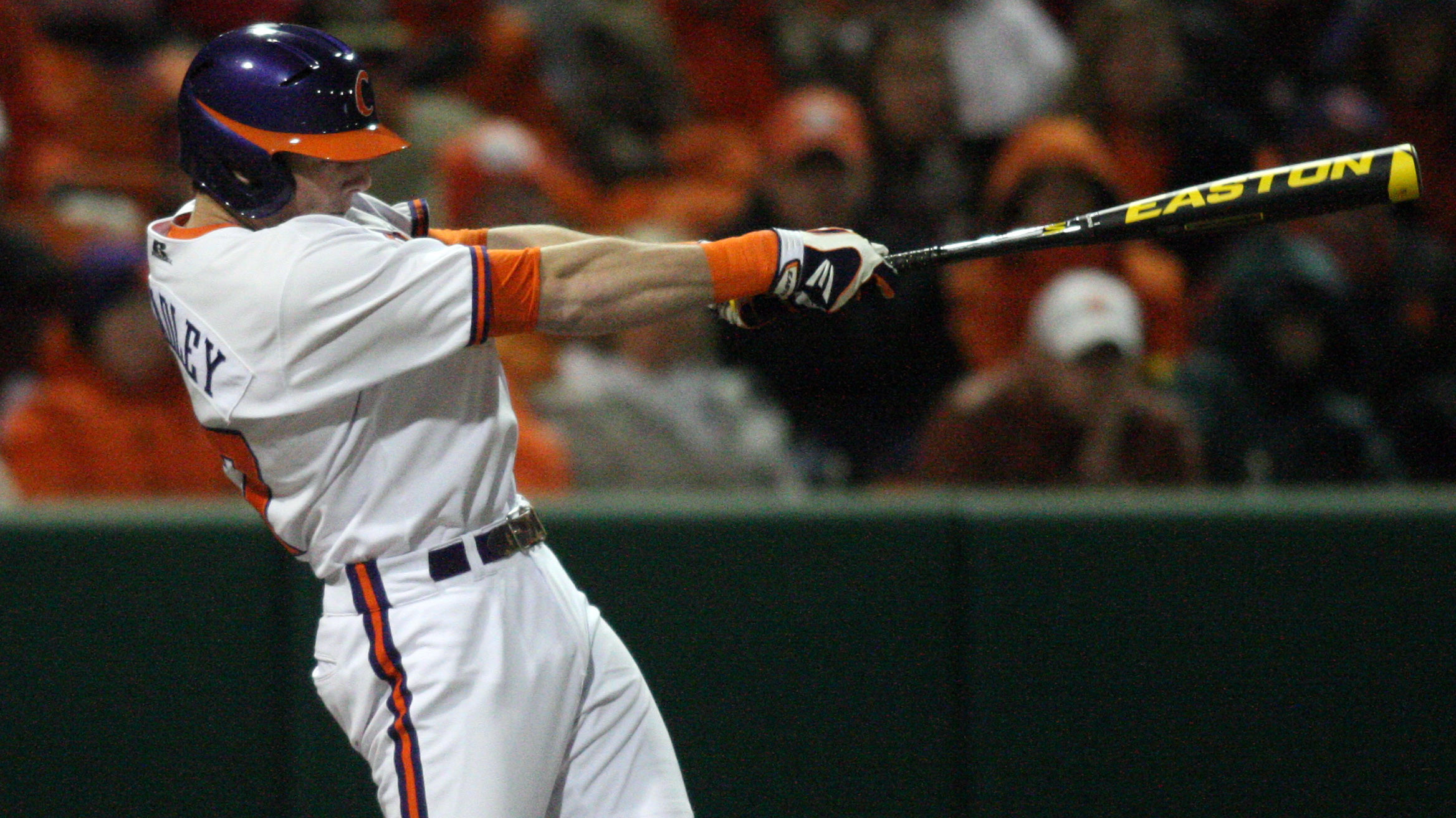 Bradley's Three-Run, Walkoff Homer Lifts #14 Clemson to 8-7 Win Over Spartans Tuesday
