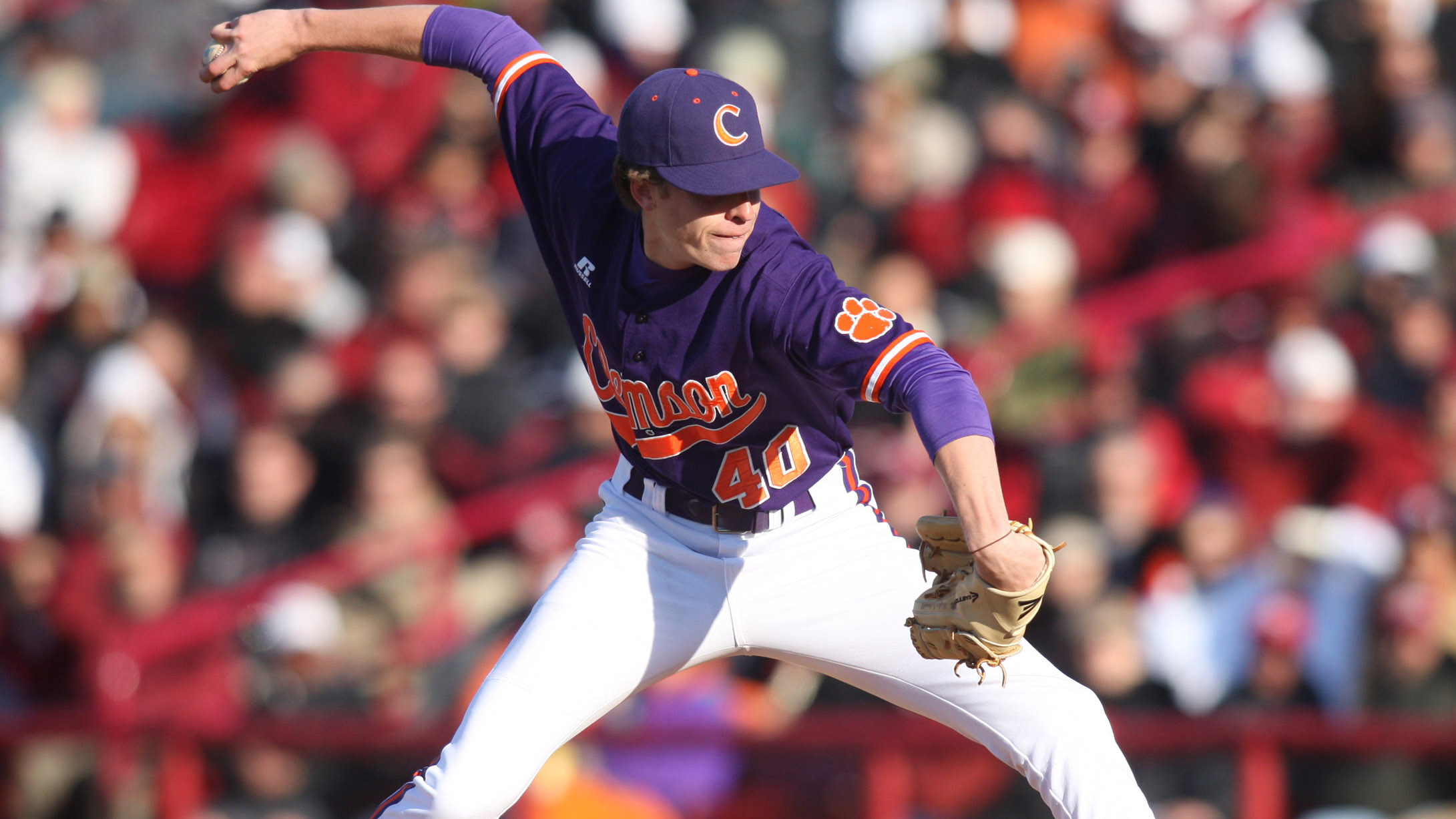 Brittle's Grand Slam, Clutch Pitching Lifts Tigers Over #8 Wolfpack 7-4 Saturday