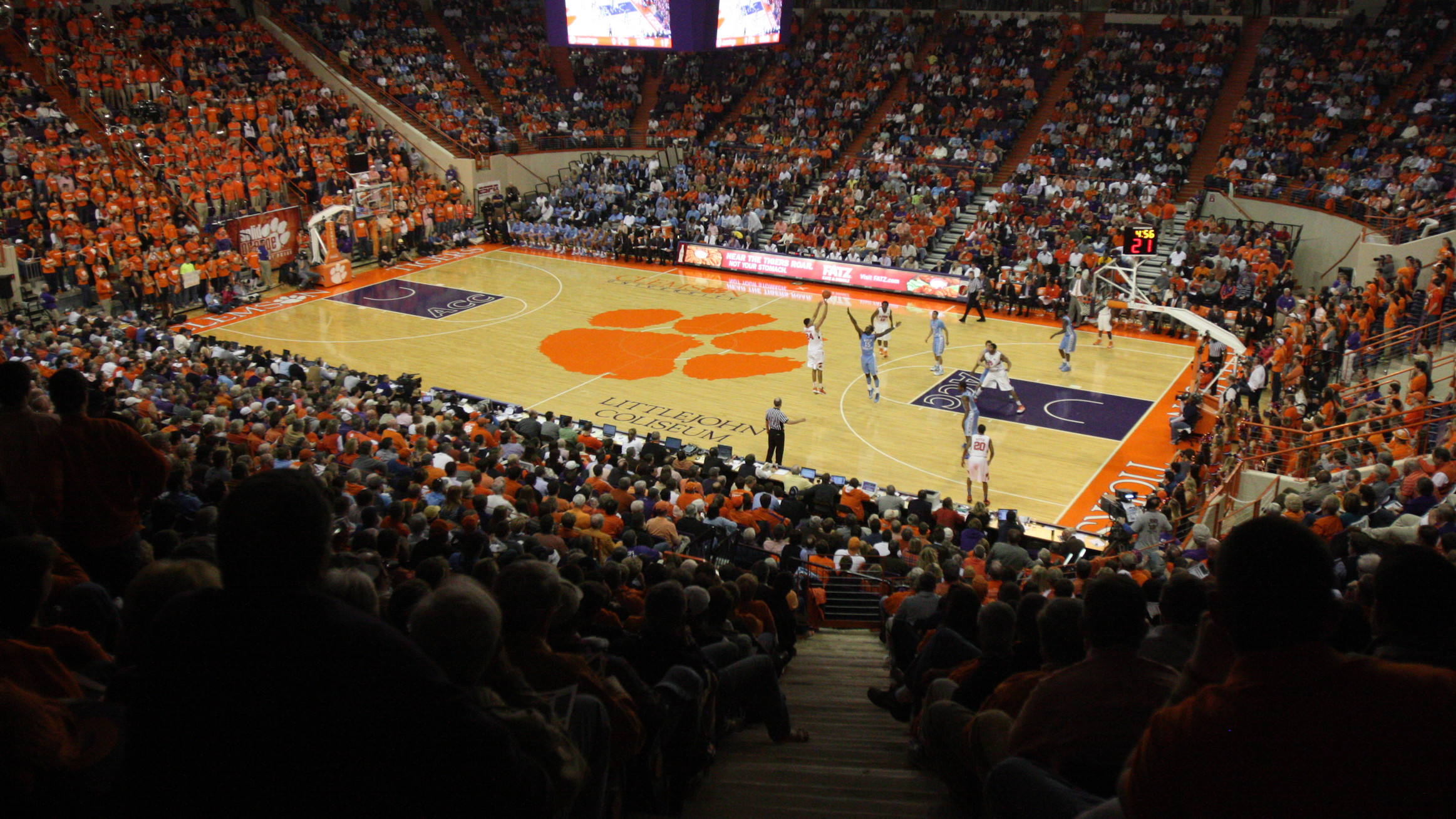 Tickets Sold Out for Clemson vs. Duke Men's Basketball Game