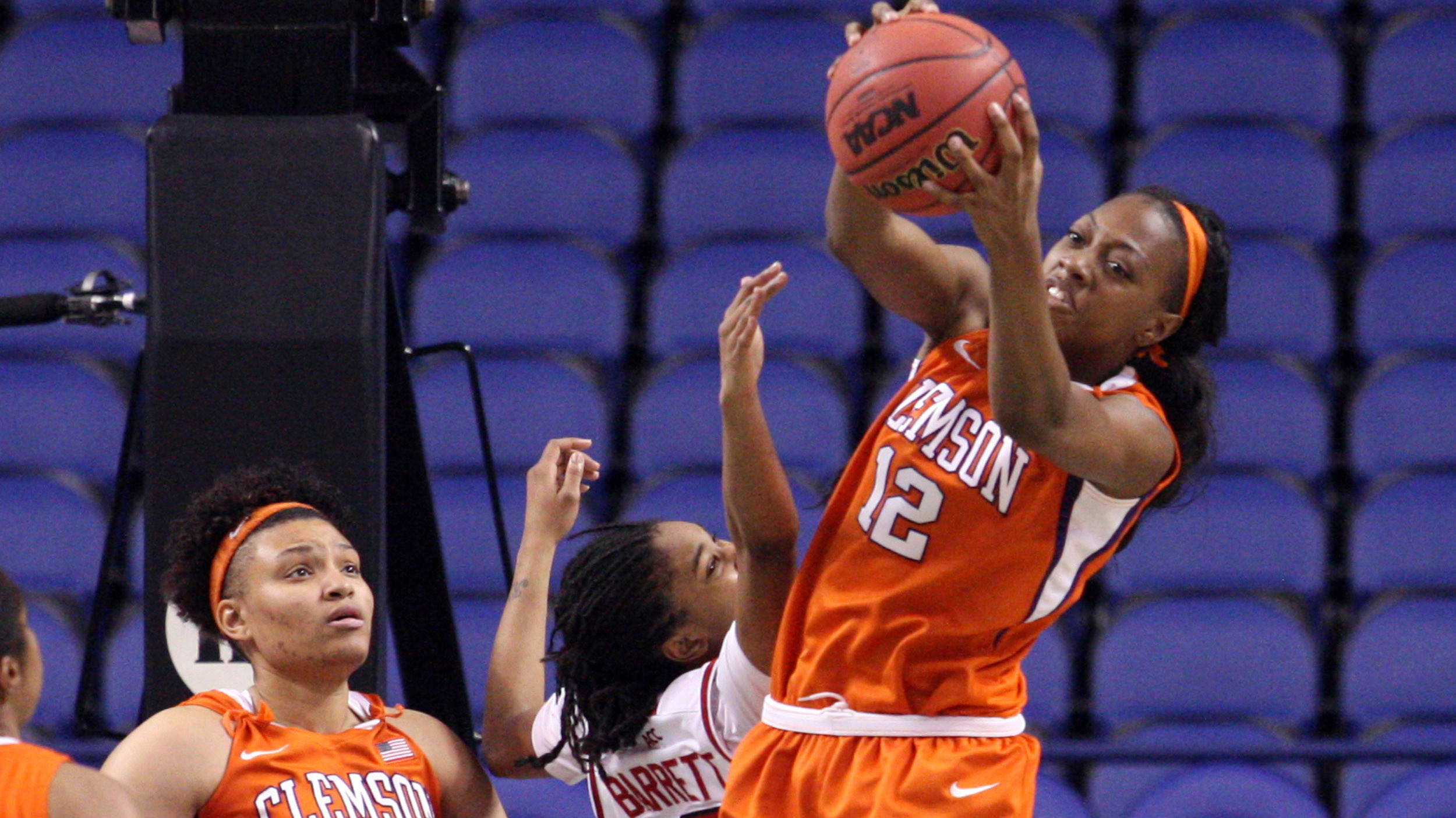 EXCLUSIVE: Lady Tigers wear down after valiant effort