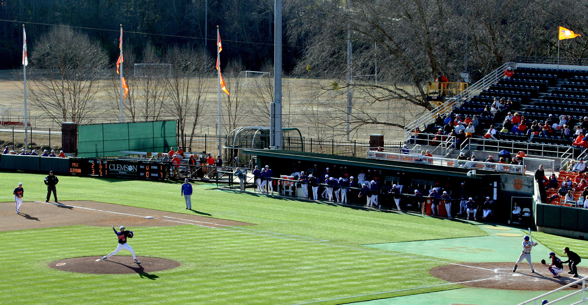 Clemson vs. Duke Baseball Game Friday Changed to 4:00 PM Start