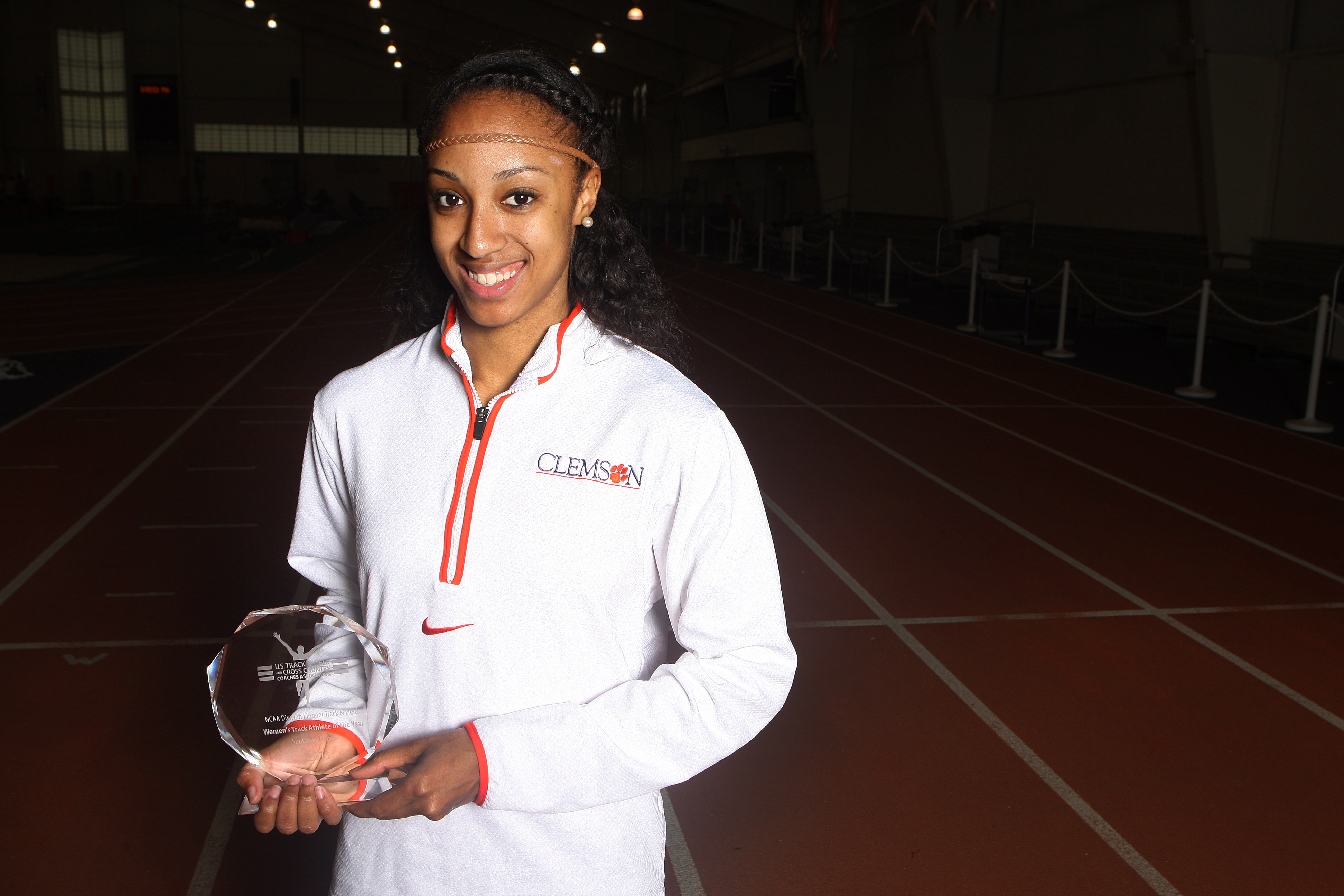 Four Clemson Track & Field Athletes Earn ACC Indoor Accolades