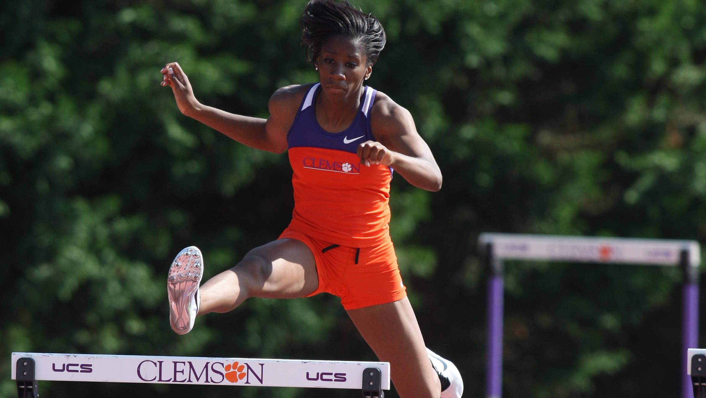 Harrison Earns ACC Performer of the Week Honor for Women's Track & Field