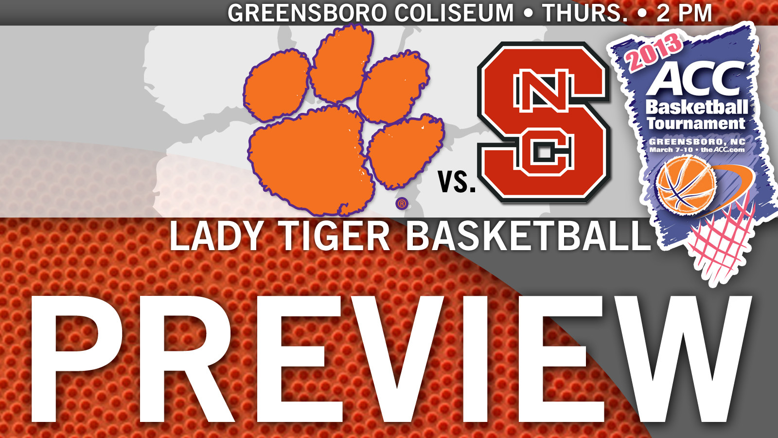 Clemson to Play NC State in ACC Tournament Opener