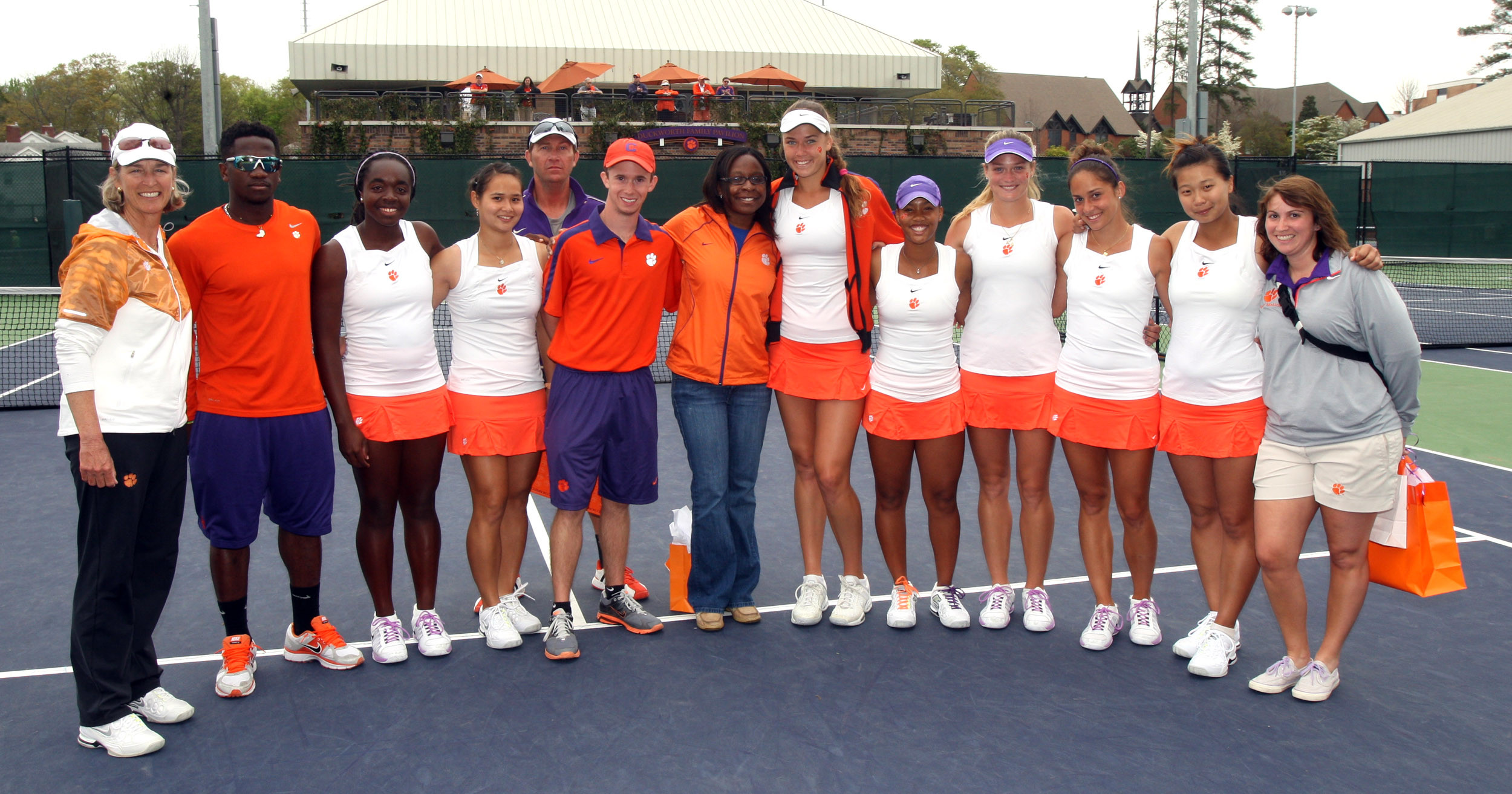 No. 13 Women?s Tennis Earns No. 2 Seed in ACC Tournament