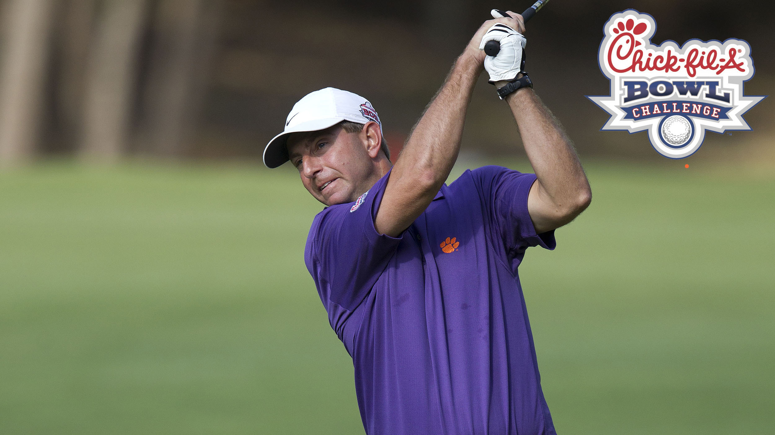 Swinney to Complete in 2013 Chick-fil-A Bowl Challenge