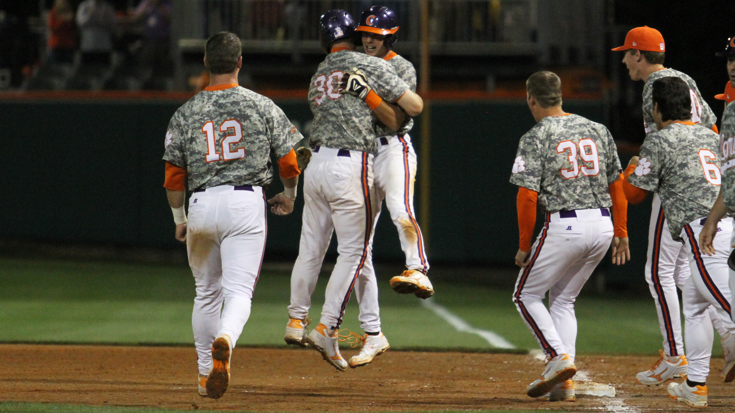 #13 Clemson Rallies For 4-3 Walkoff Win Over #19 Georgia Tech in 11 Innings in Game 2 of Doubleheader Friday