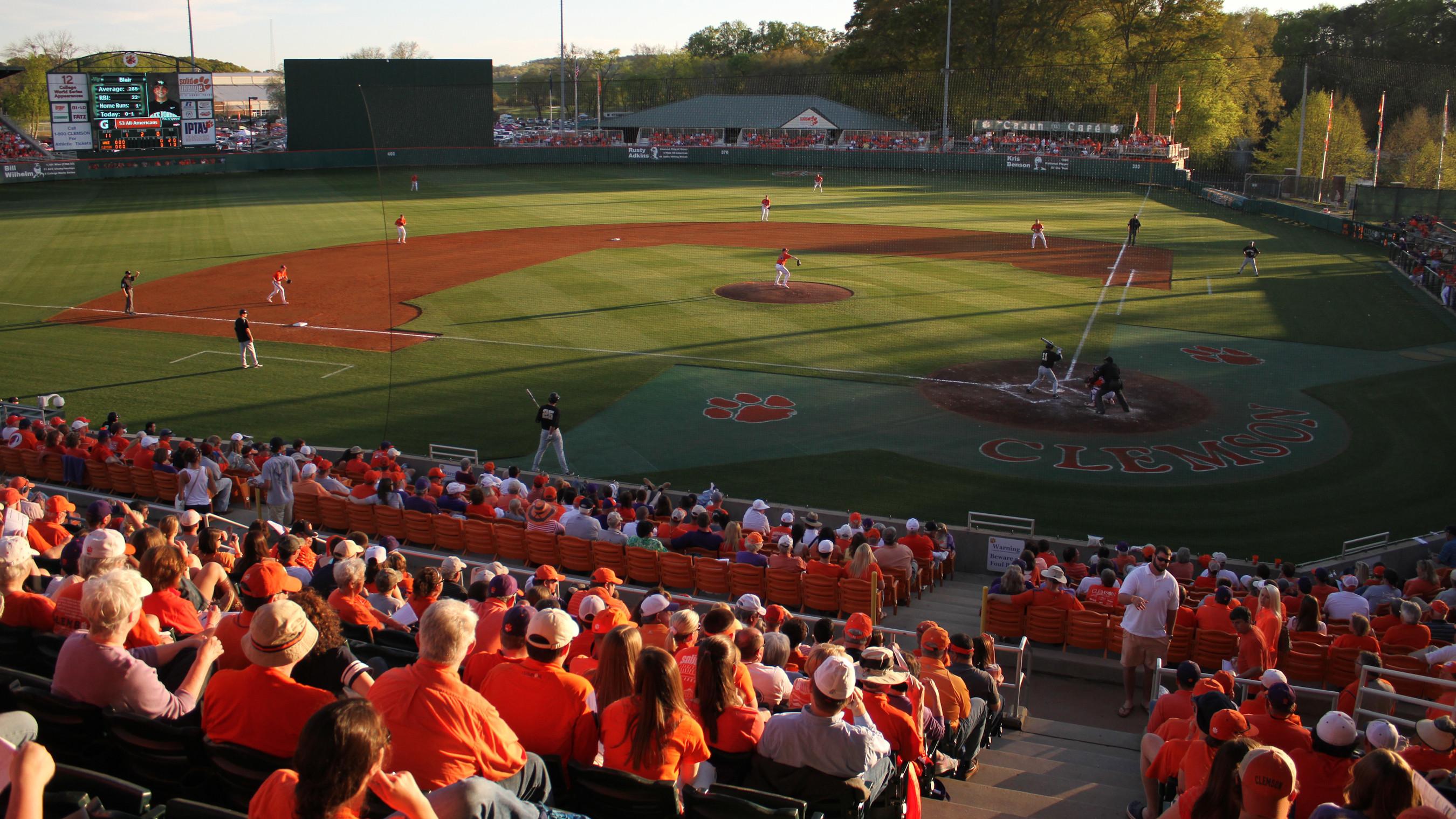 Clemson vs. Georgia Tech Baseball Series Schedule Changes