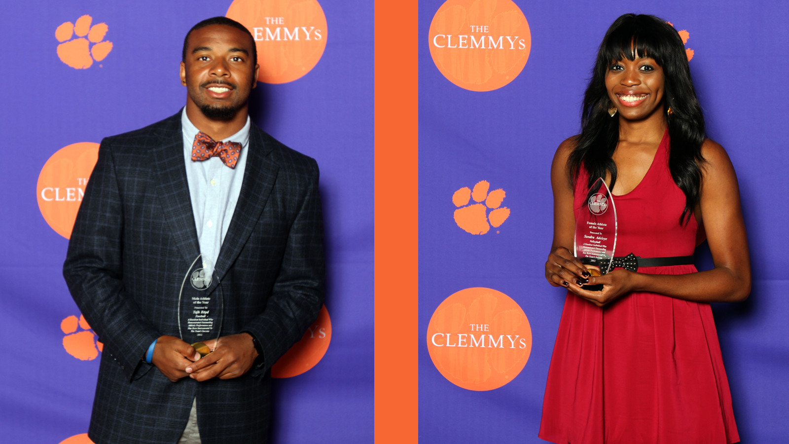 Student-Athletes Walk Orange Carpet for First CLEMMYs