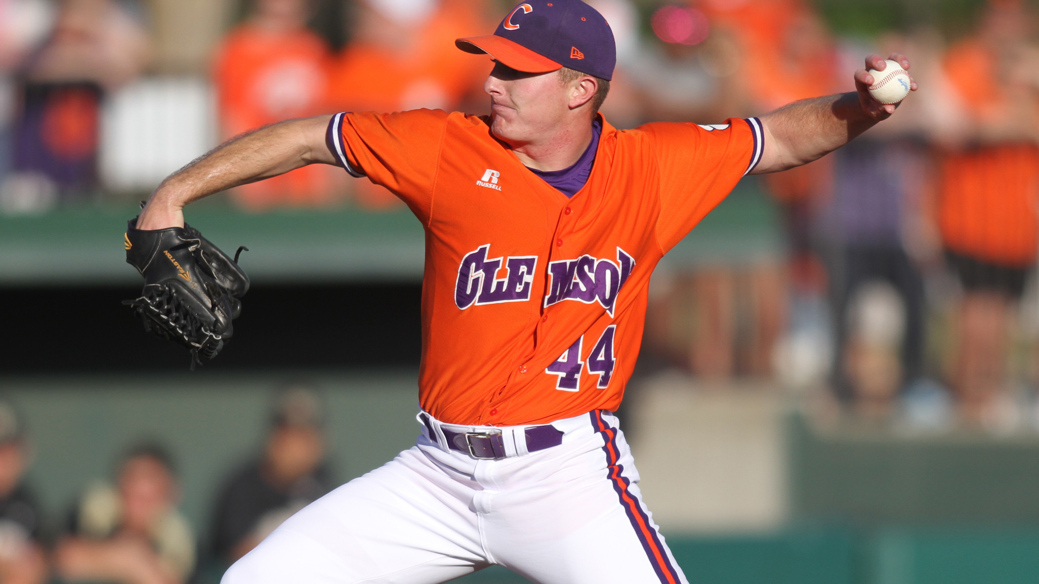 Crownover Pitches #15 Clemson to 7-0 Win Over Eagles Saturday