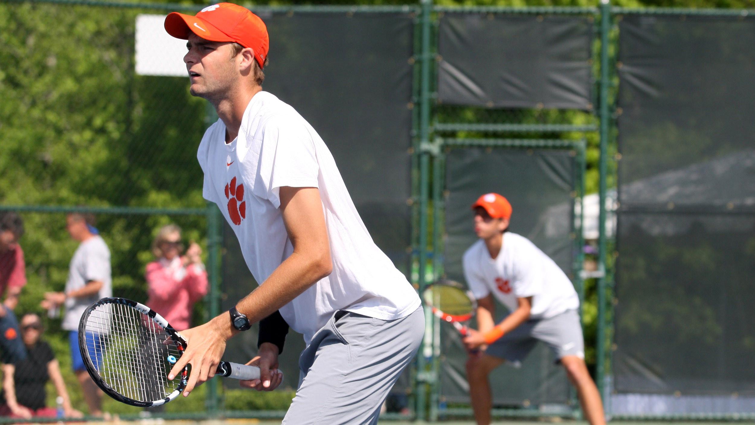 Clemson Men?s Tennis Ranked 23rd