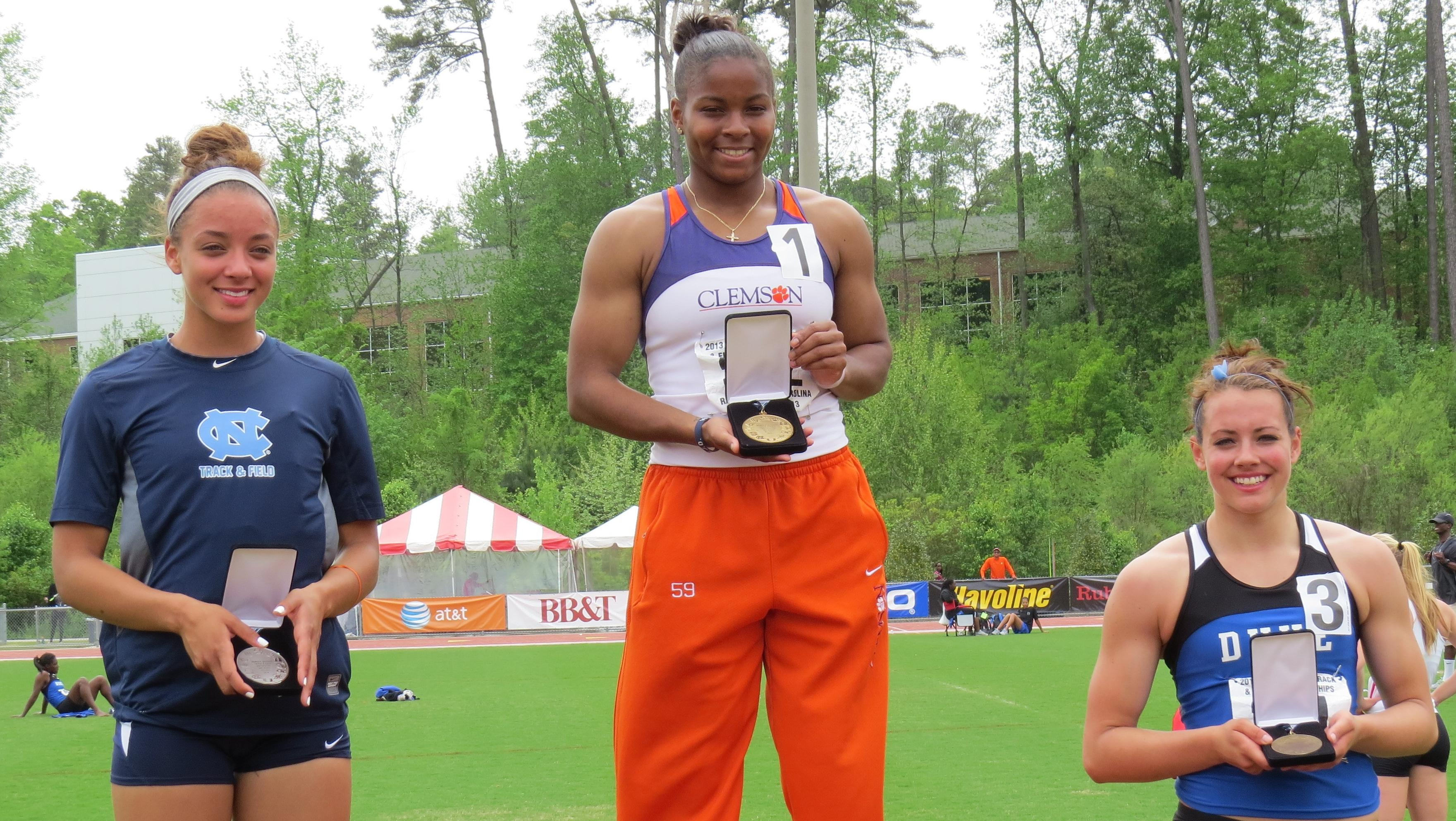 Fountain's Heptathlon Crown Highlights Day Two at ACC Outdoor Track & Field Championships