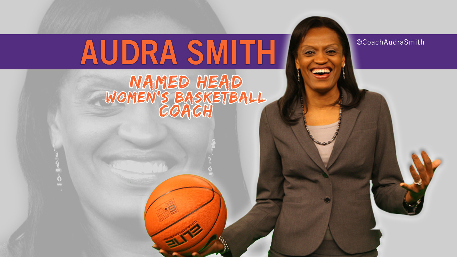 Audra Smith Named Head Women's Basketball Coach