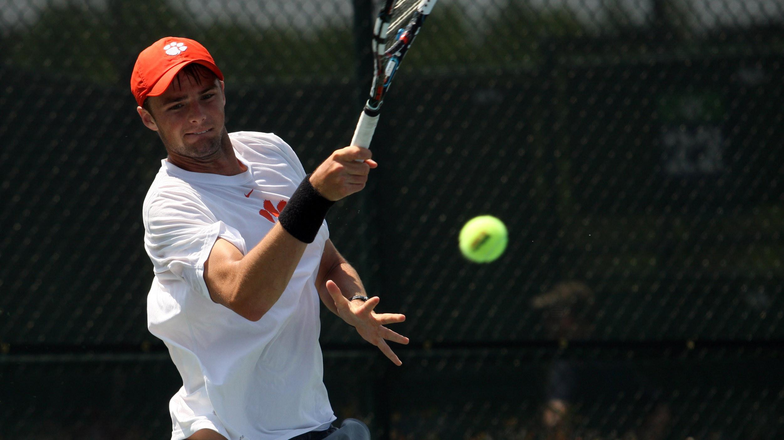 Clemson Men's Tennis Team is Ranked 23rd