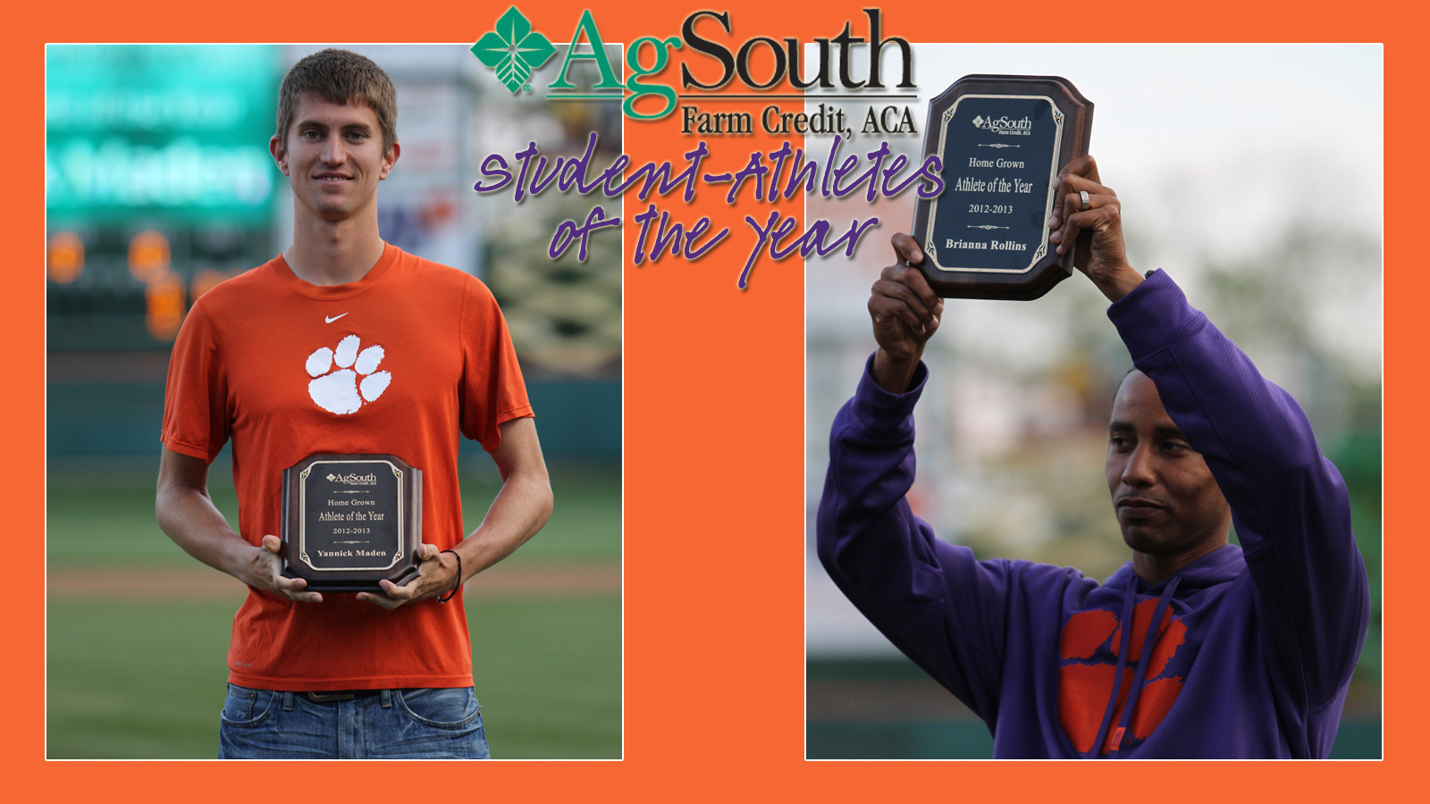 AgSouth Homegrown Athletes of the Year – Maden & Rollins