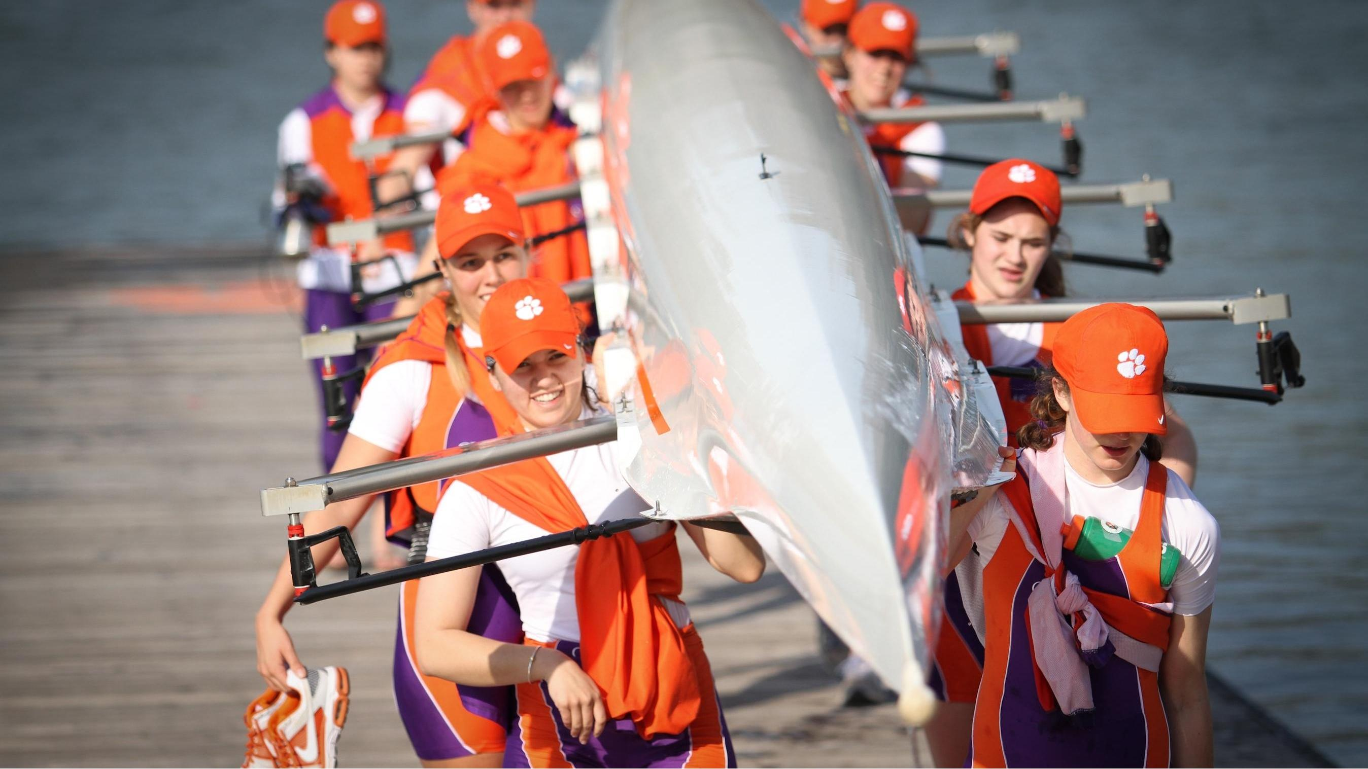 "Rowing to Hold ""Team Up for Clemson"" Regatta on Saturday"