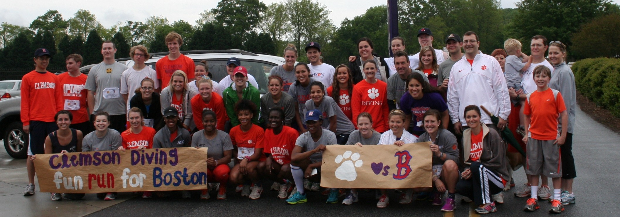 Diving Holds Charitable Event to Benefit Boston