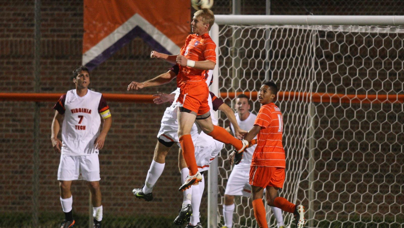 Clemson Men?s Soccer Player Honored