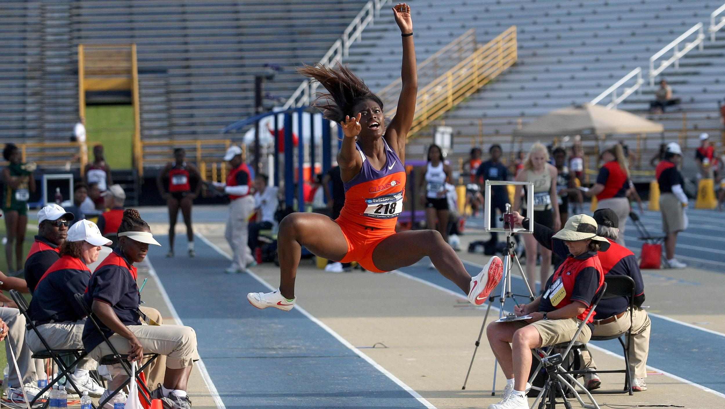 Pair of Long Jumpers Earn NCAA Berths on Day One of East Preliminary Round