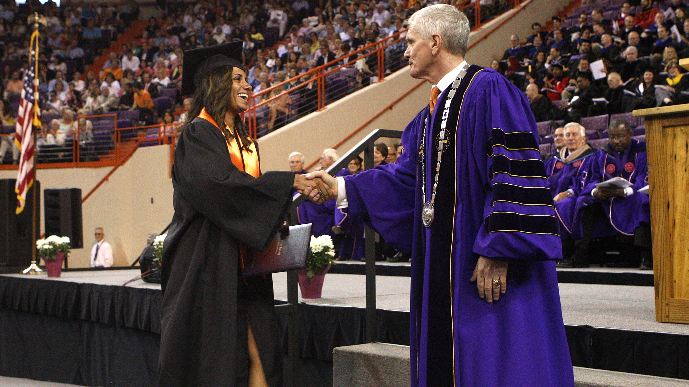 Forty-Nine Student-Athletes Graduate from Clemson