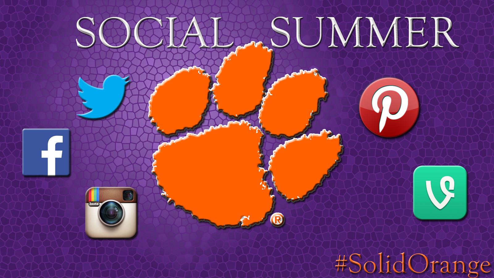 "Clemson Athletics Launches ""Social Summer"""