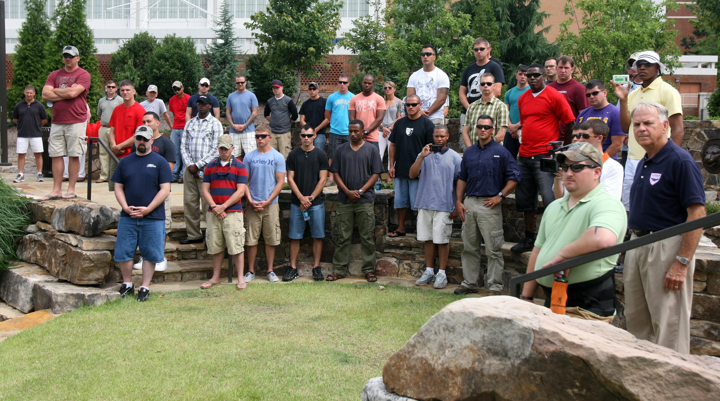 EXCLUSIVE: Wounded Warriors Tour Clemson
