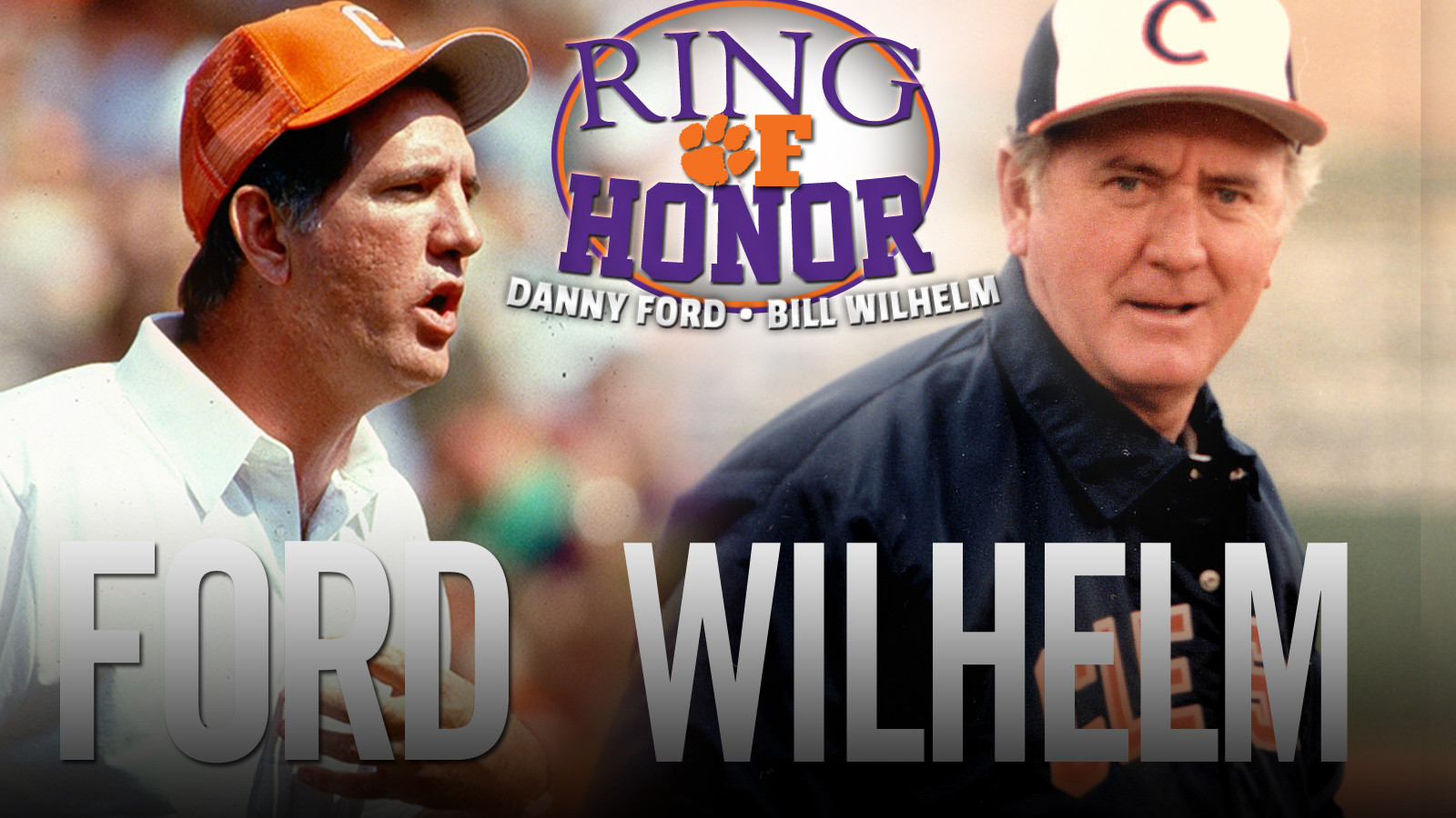 Two Clemson Coaching Legends to be Inducted into Ring of Honor