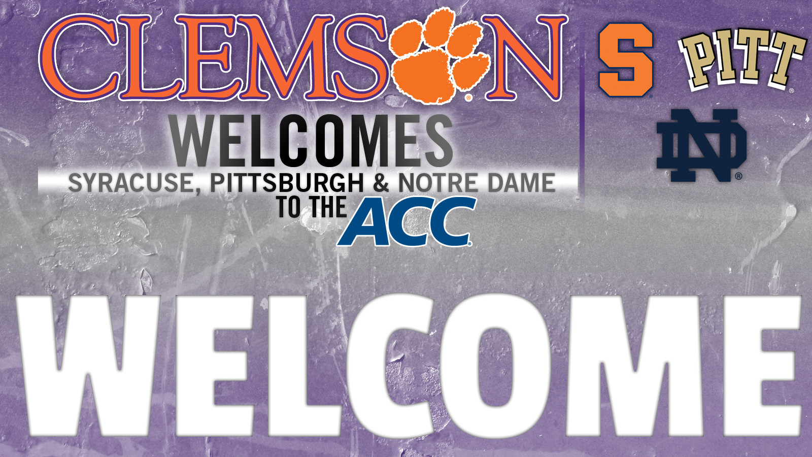 Clemson Officially Welcomes Three New Members to the ACC