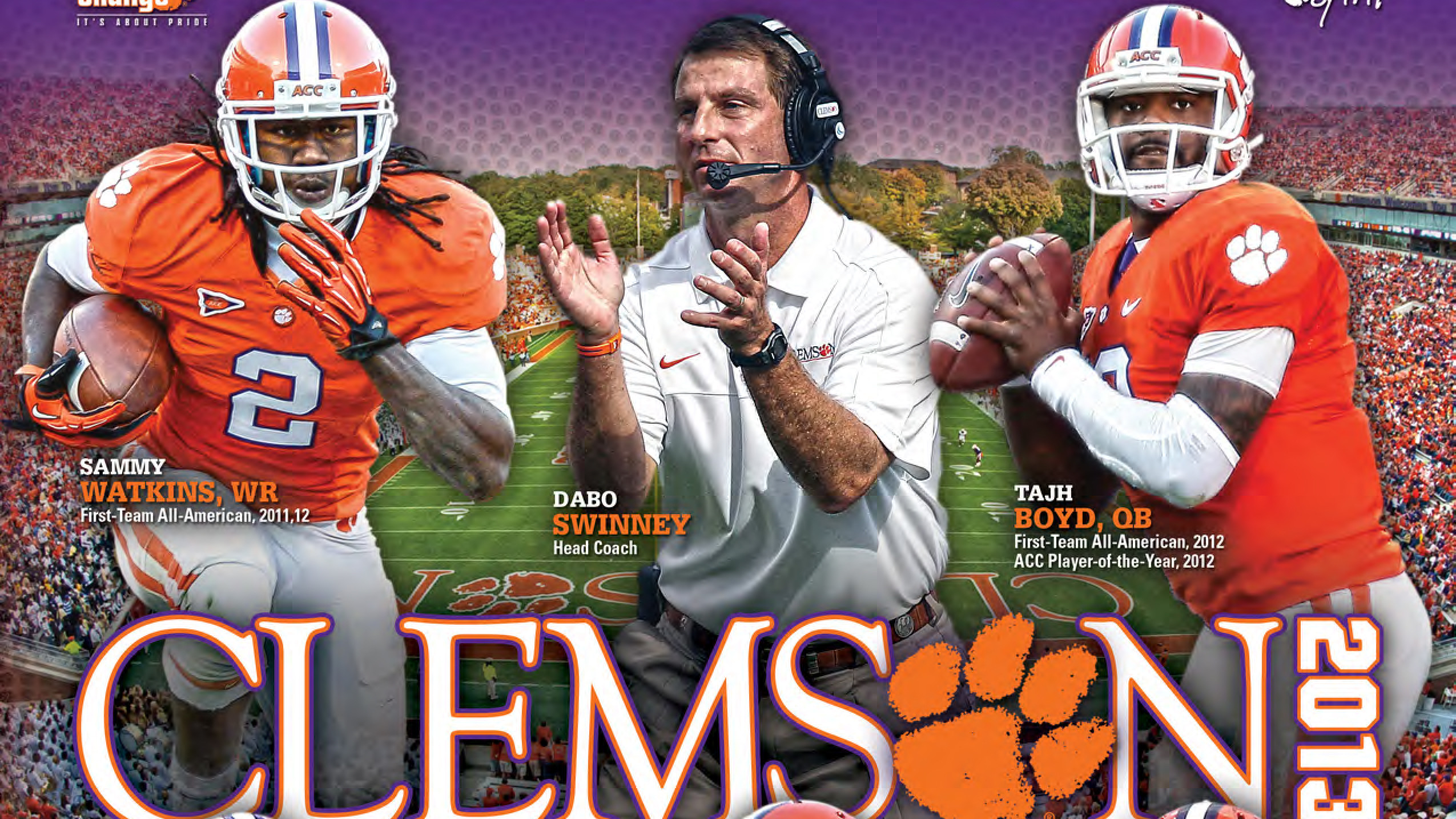 Clemson Football Media Guides Available