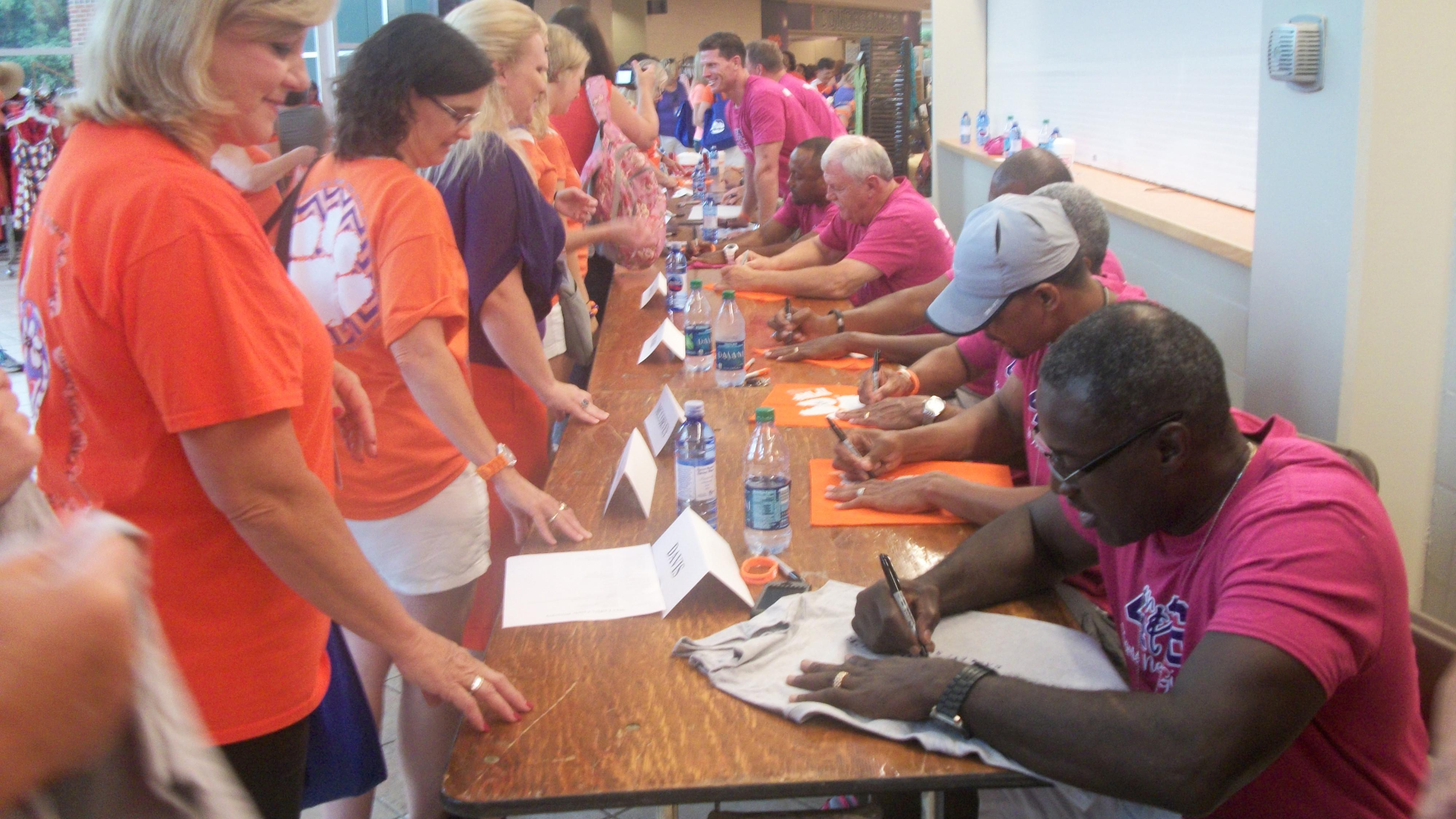 Dabo Swinney Ladies Clinic Draws Record-Setting Crowd