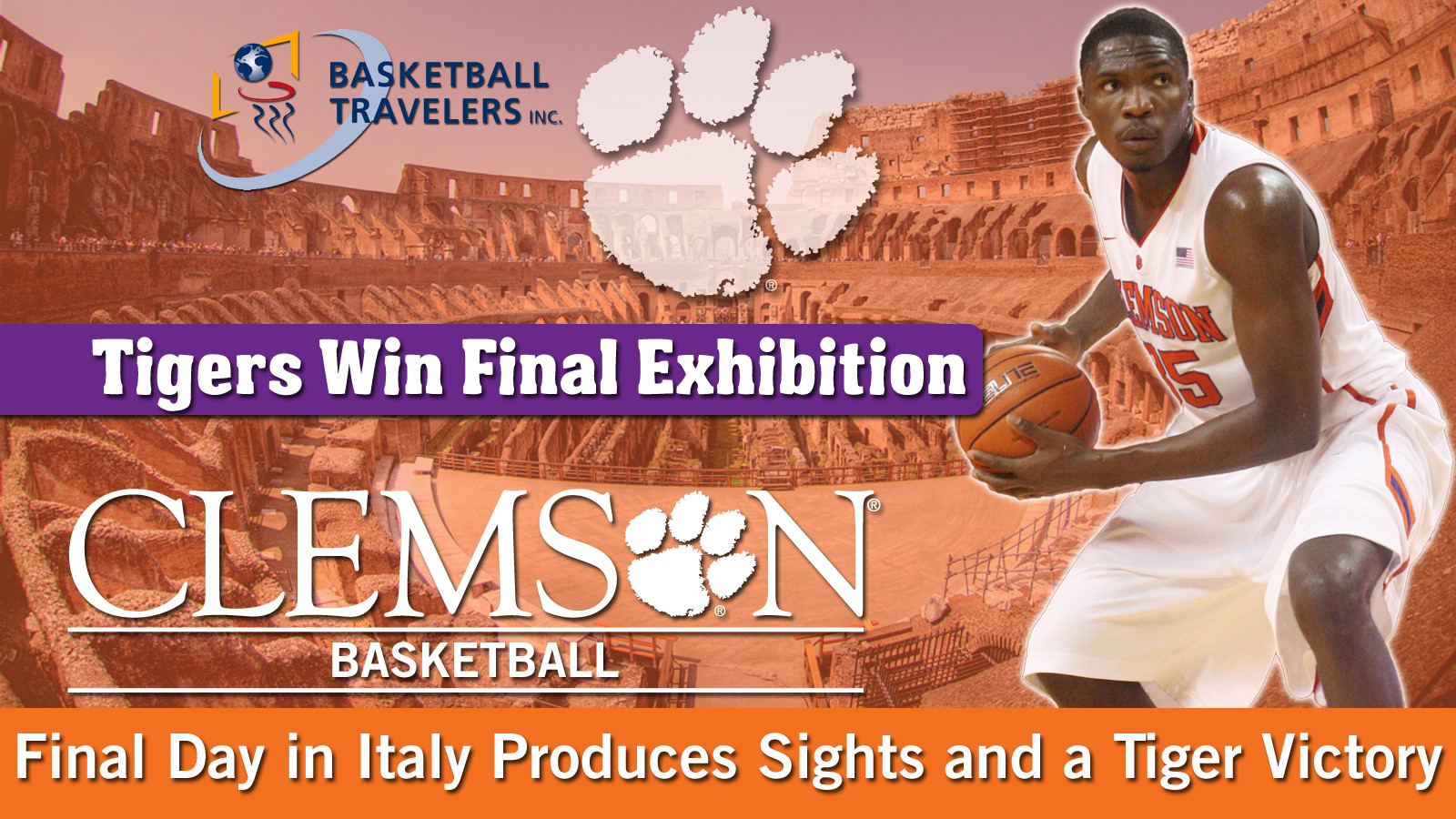 Men's Basketball Takes to Italy: Day Nine