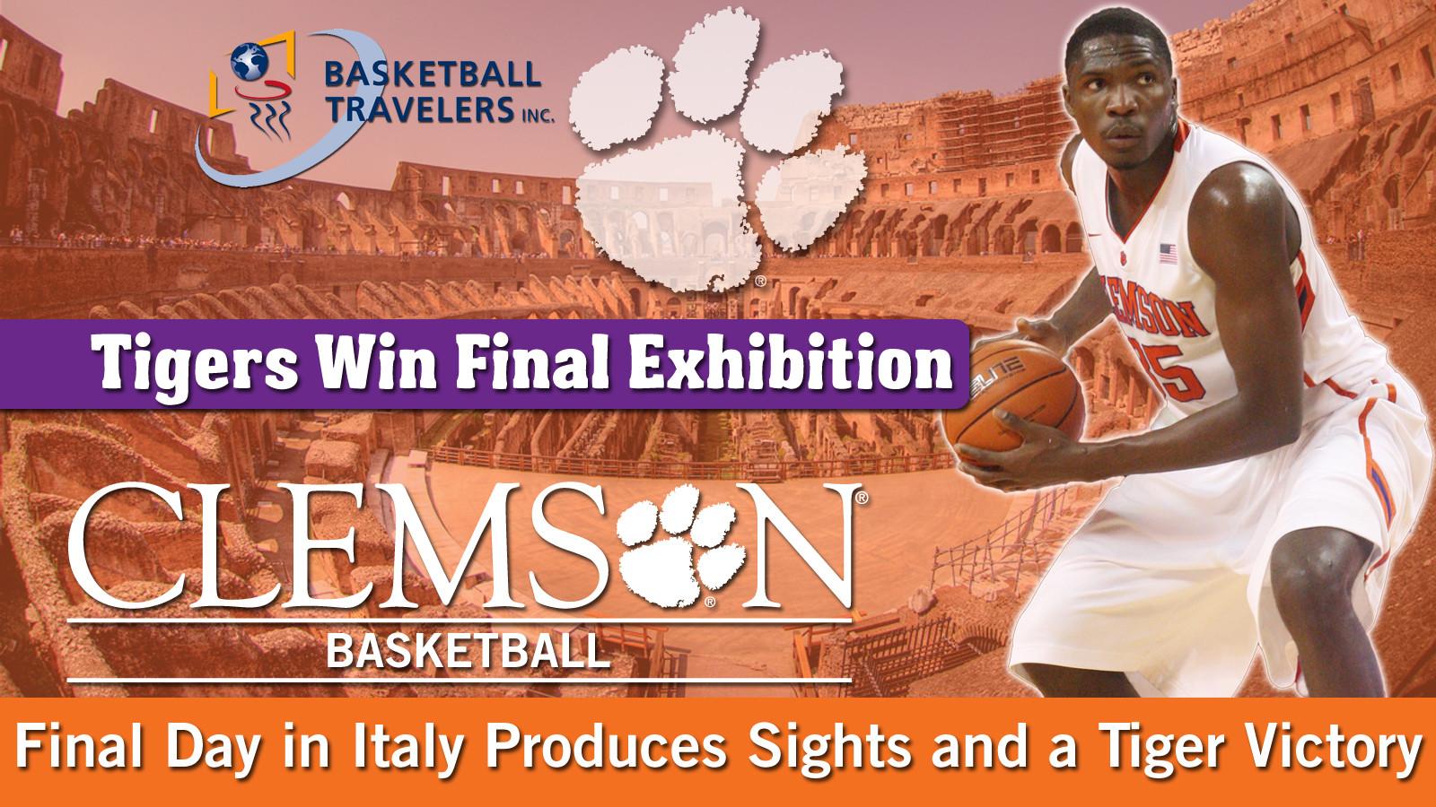 Men's Basketball Takes to Italy: Day Nine