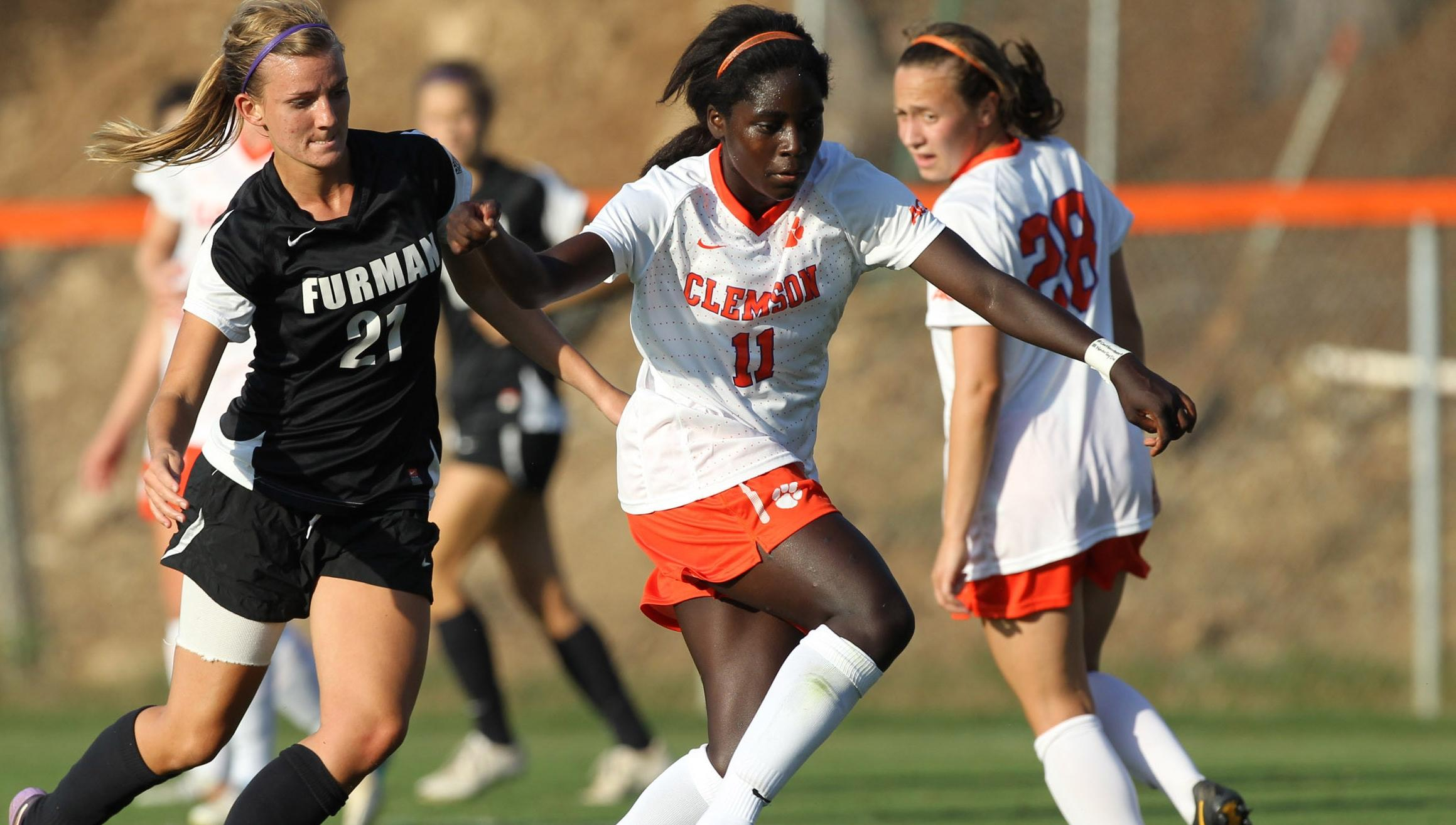 Atanda's Goal Lifts Tigers to 1-0 Victory Over Furman Sunday