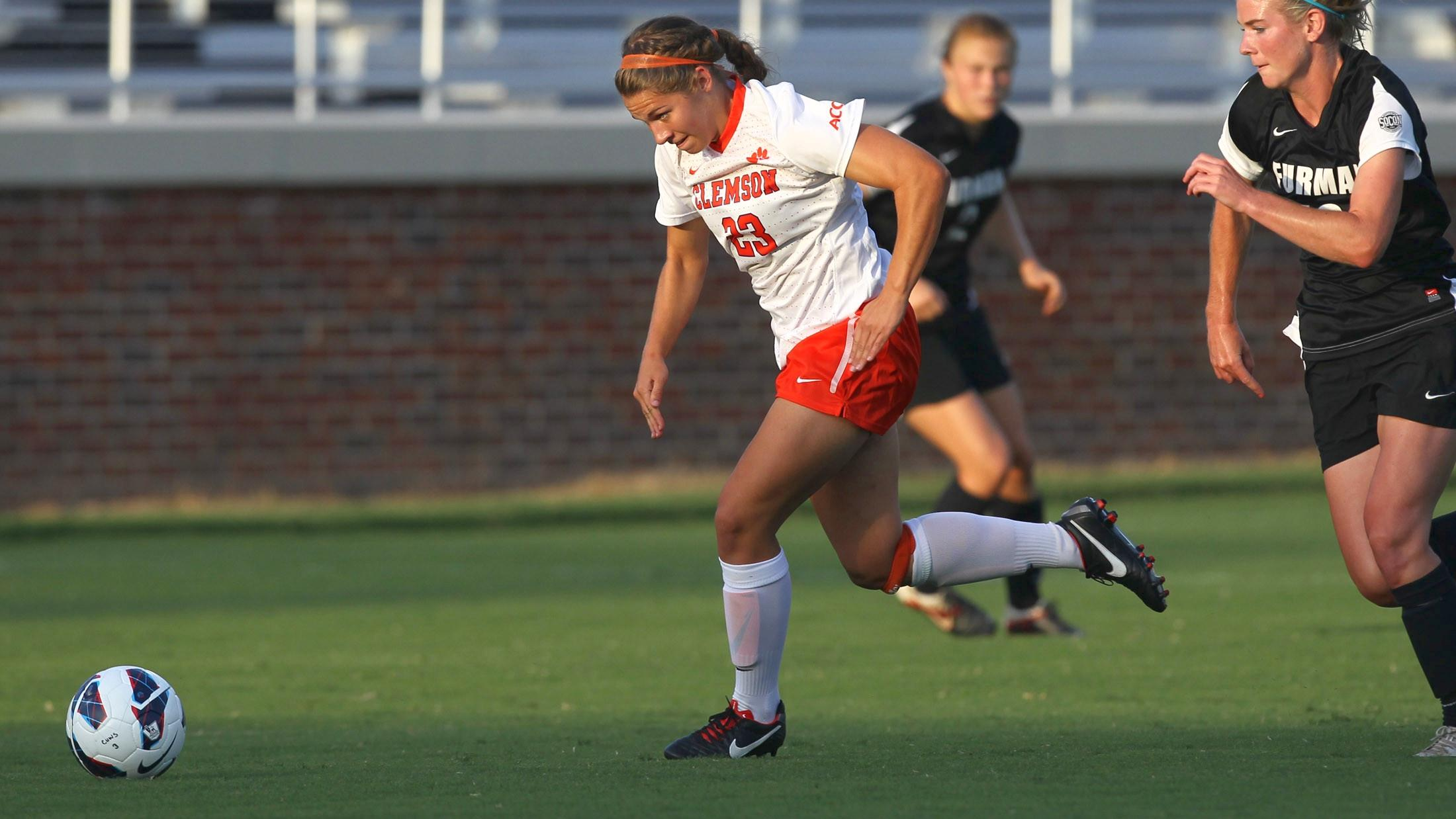 Clemson Women's Soccer to Face USF in Tampa Friday Night