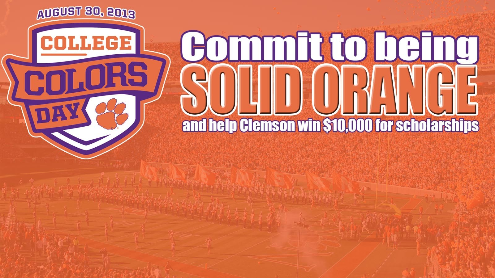 DON'T FORGET TO VOTE!…Tiger Fans Encouraged to Support Clemson in Spirit Competition