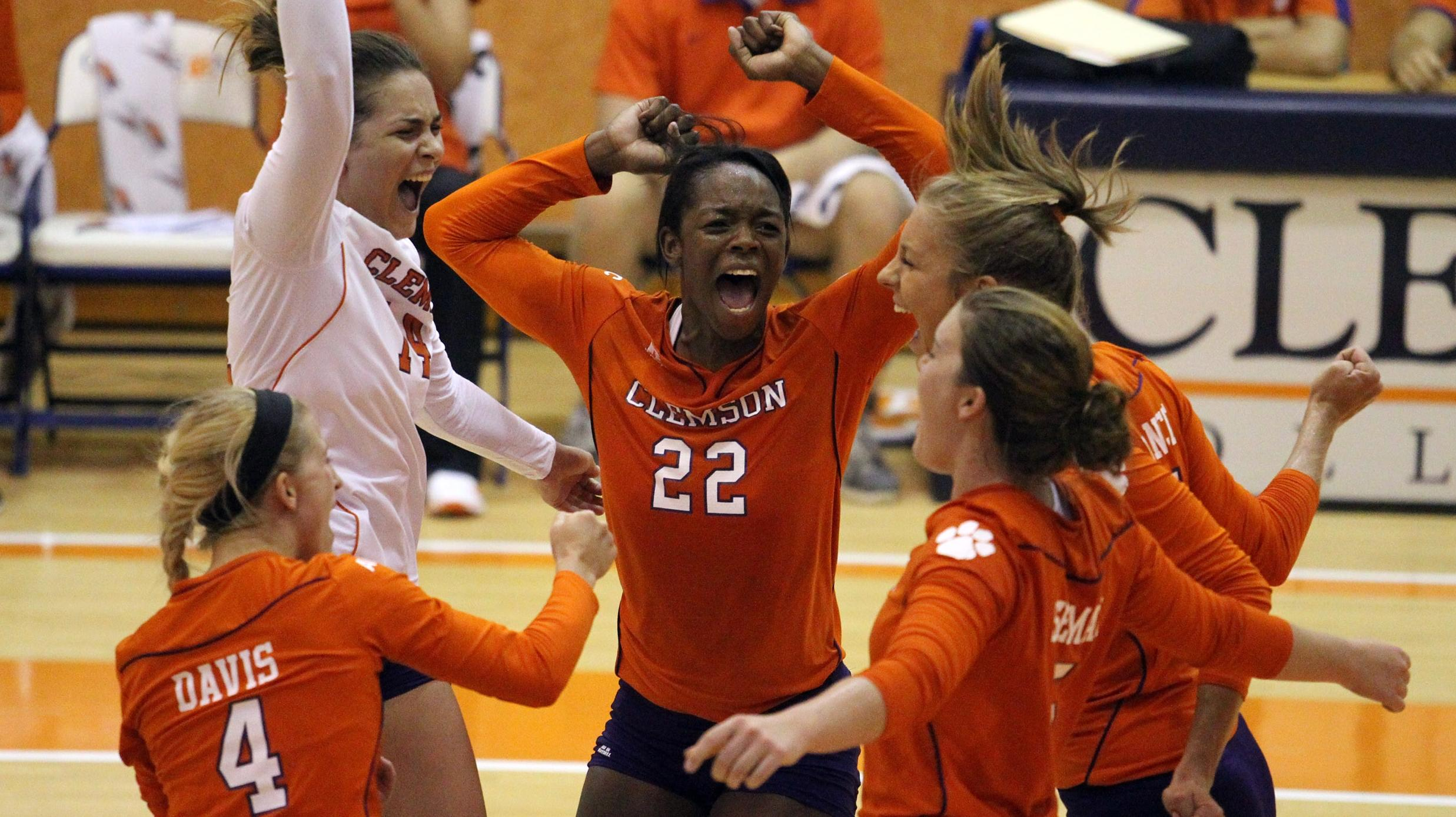 Orange Tops White in Annual Volleyball Scrimmage