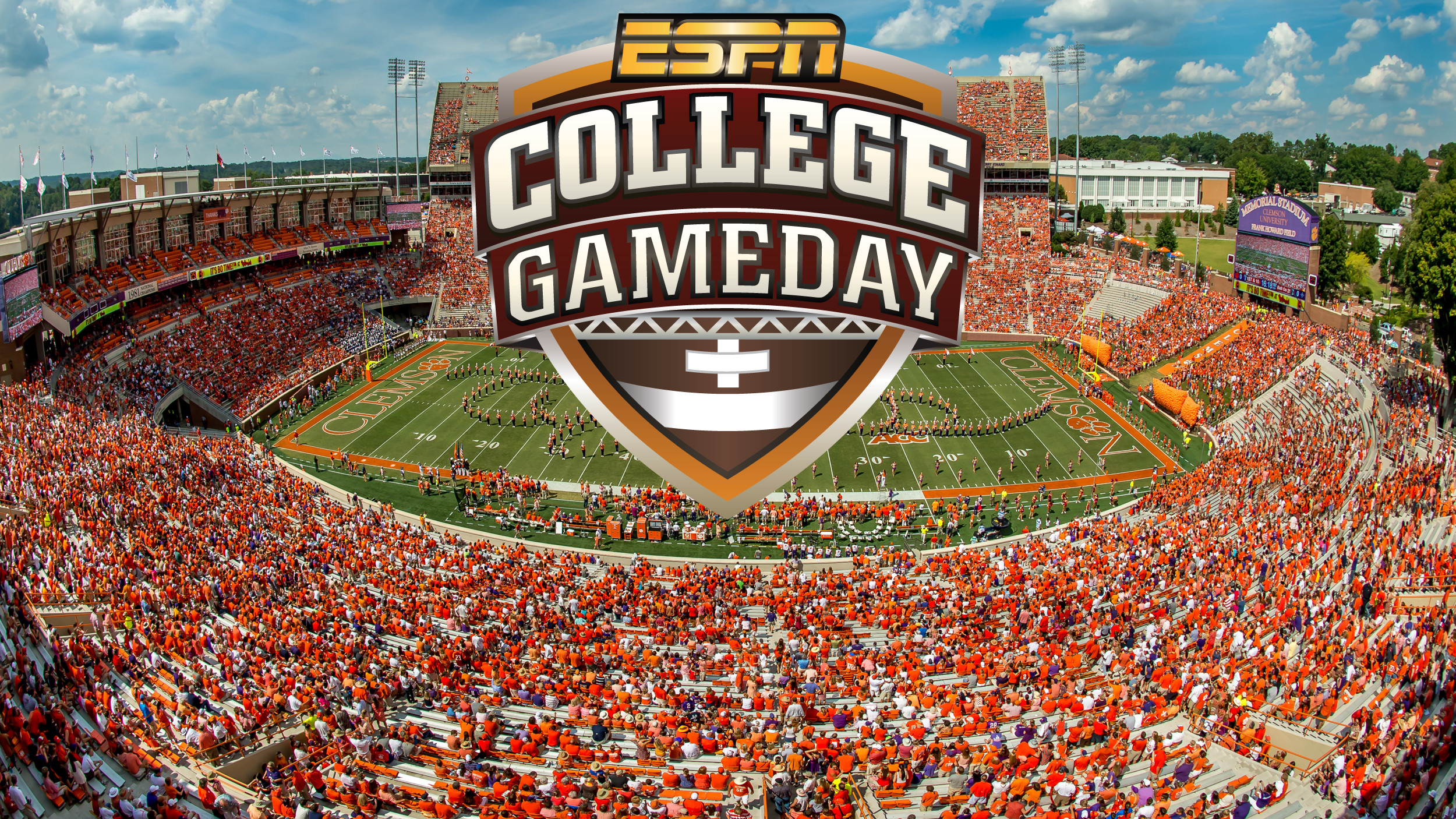 Clemson Invites Faculty, Staff, Students and Tiger Fans to Bowman Field for ESPN College GameDay