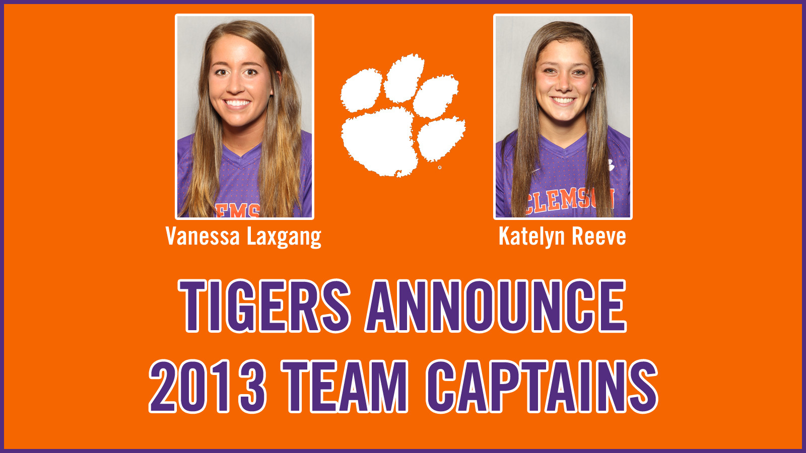 Clemson Women's Soccer Announces Team Captains for 2013