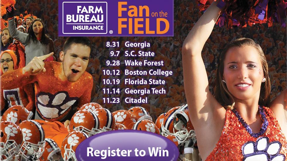 Tiger Fans Can Register Now for Farm Bureau Insurance Fan on the Field Contest