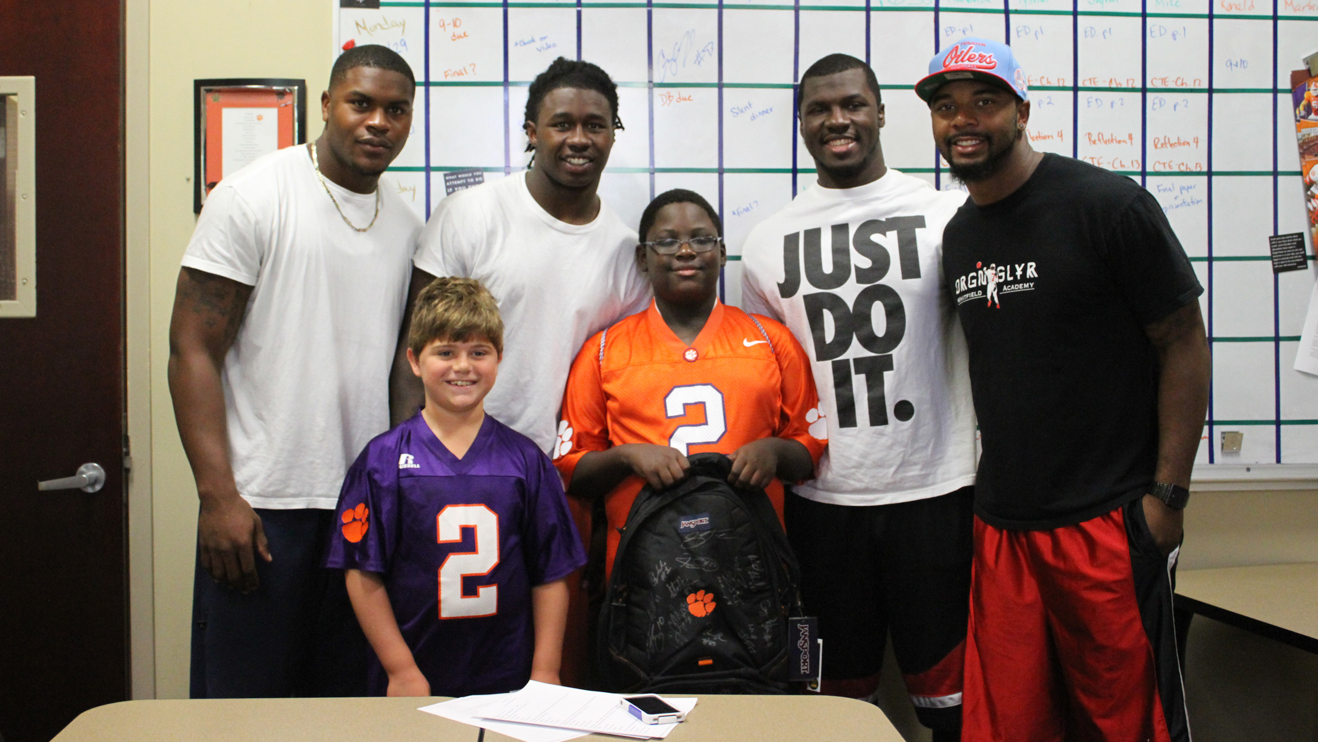 'A True Tiger'…One Young Fan's Extraordinary Journey to Clemson