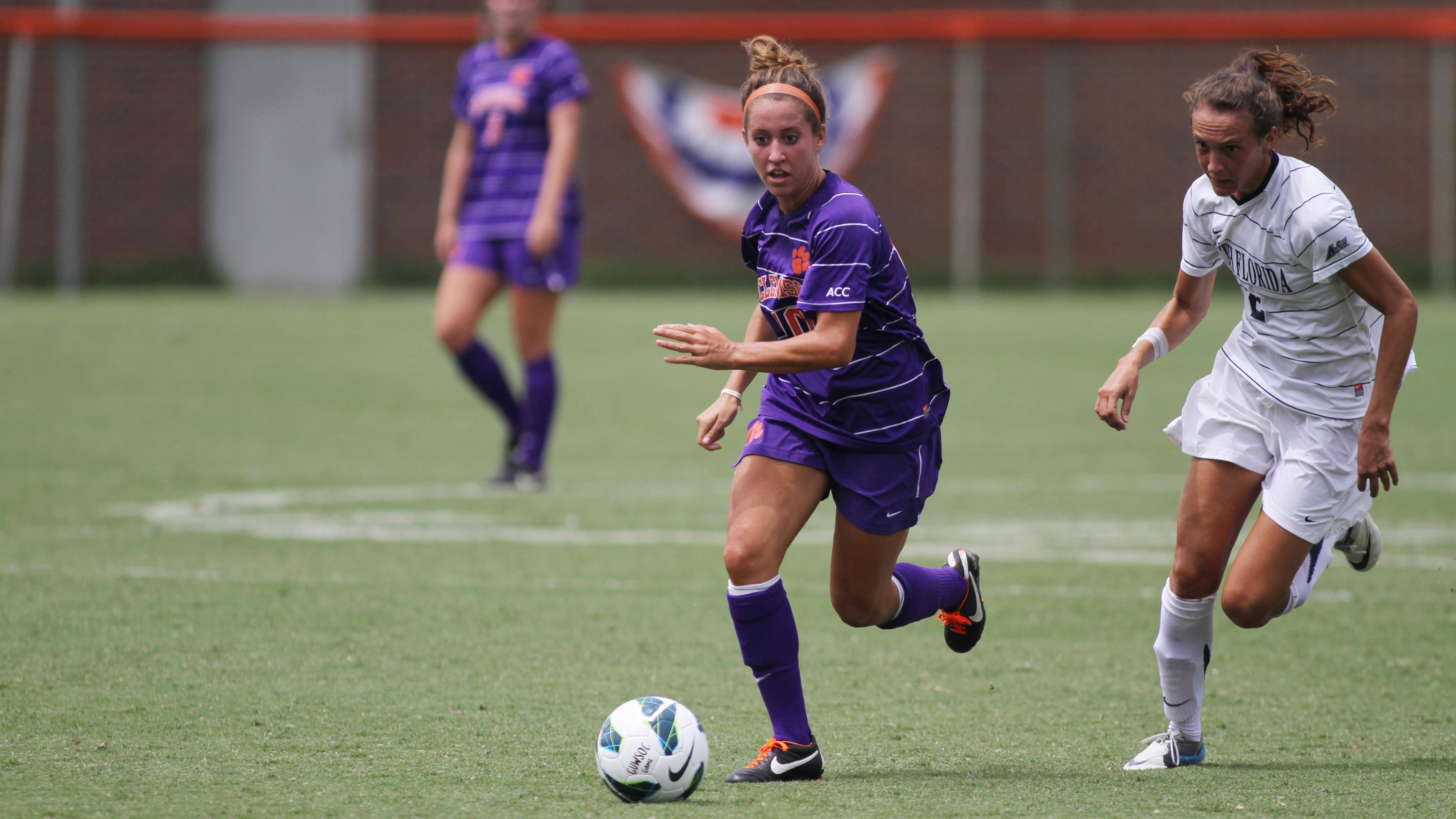 Football Game Program Feature: Women's Soccer Spotlight – Vanessa Laxgang