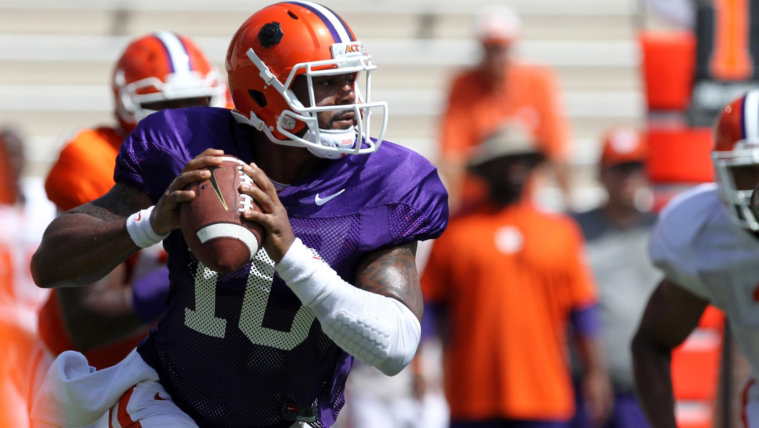 new product 952f4 0901b Clemson Football Practice Report: August 13 – Clemson Tigers ...