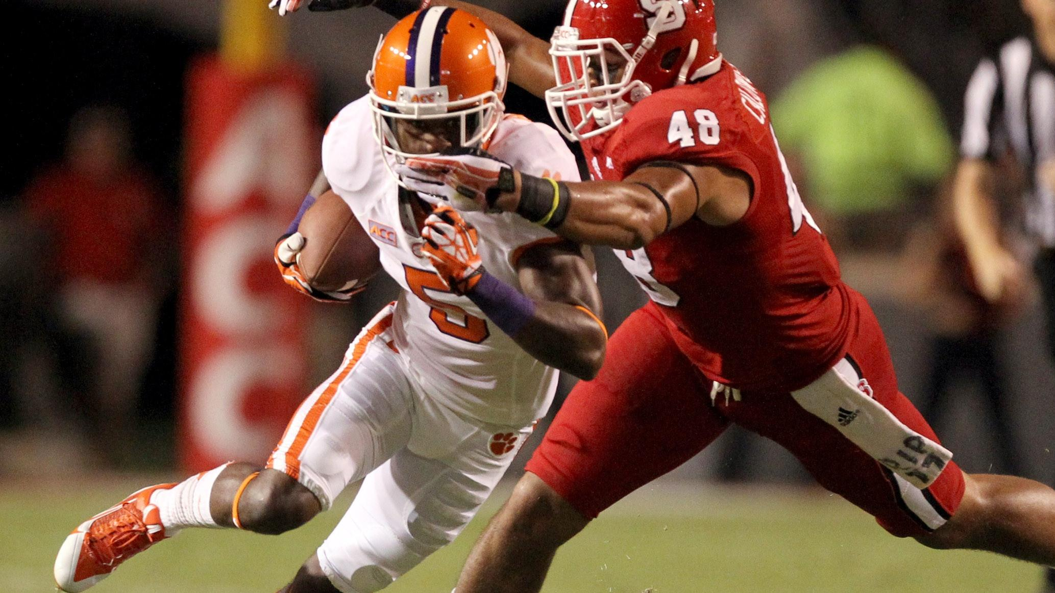 Clemson Football Video Report: Tiger Talk with Germone Hopper