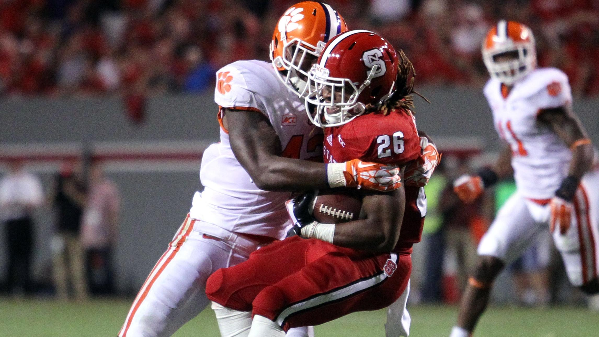 Stephone Anthony and Vic Beasley Named ACC Players of the Week