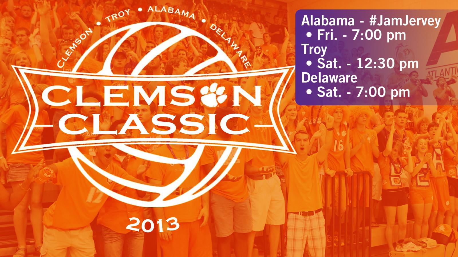 Volleyball (@ClemsonVB) Hosts Clemson Classic This Week