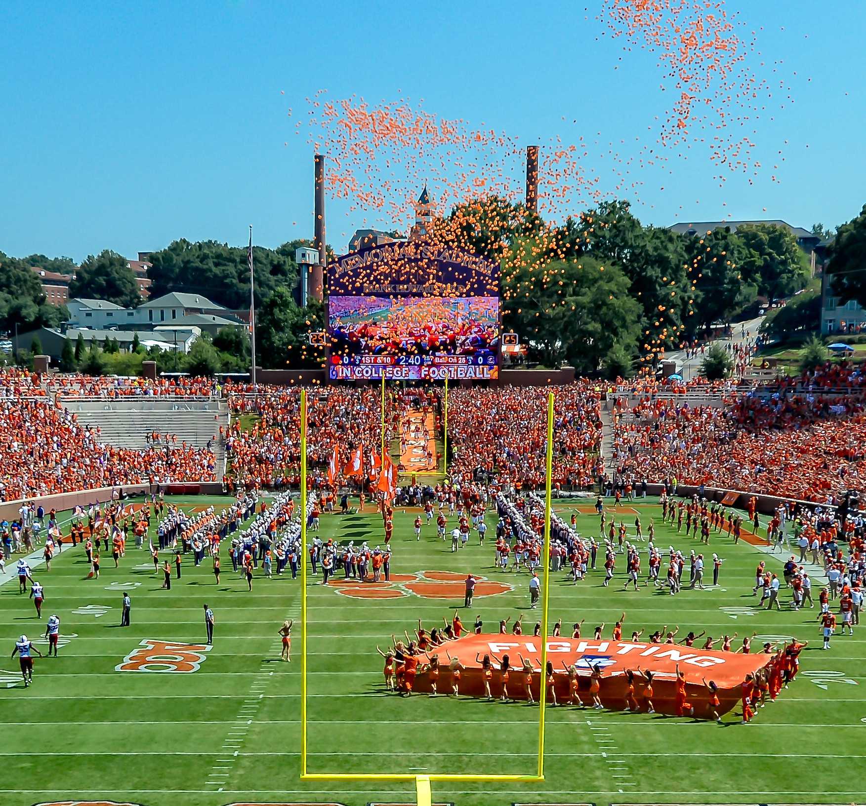 Experience Clemson Football with 360-Degree Video