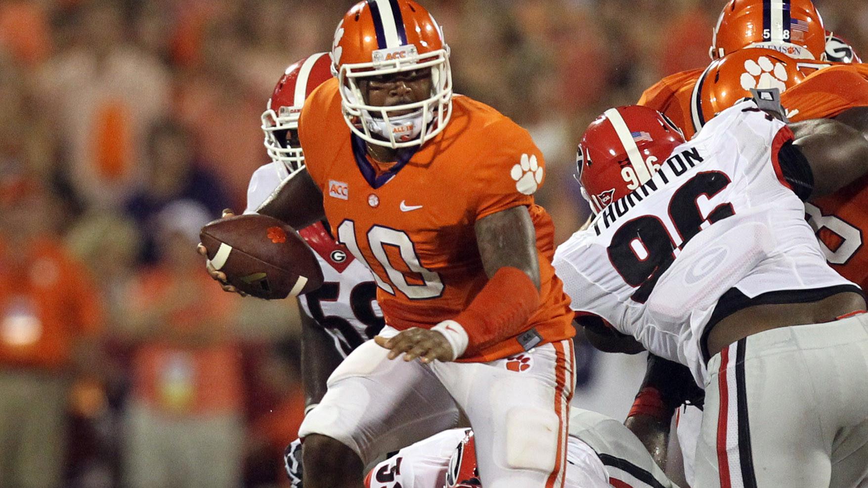 Tigers Take Down Georgia in Top-10 Clash