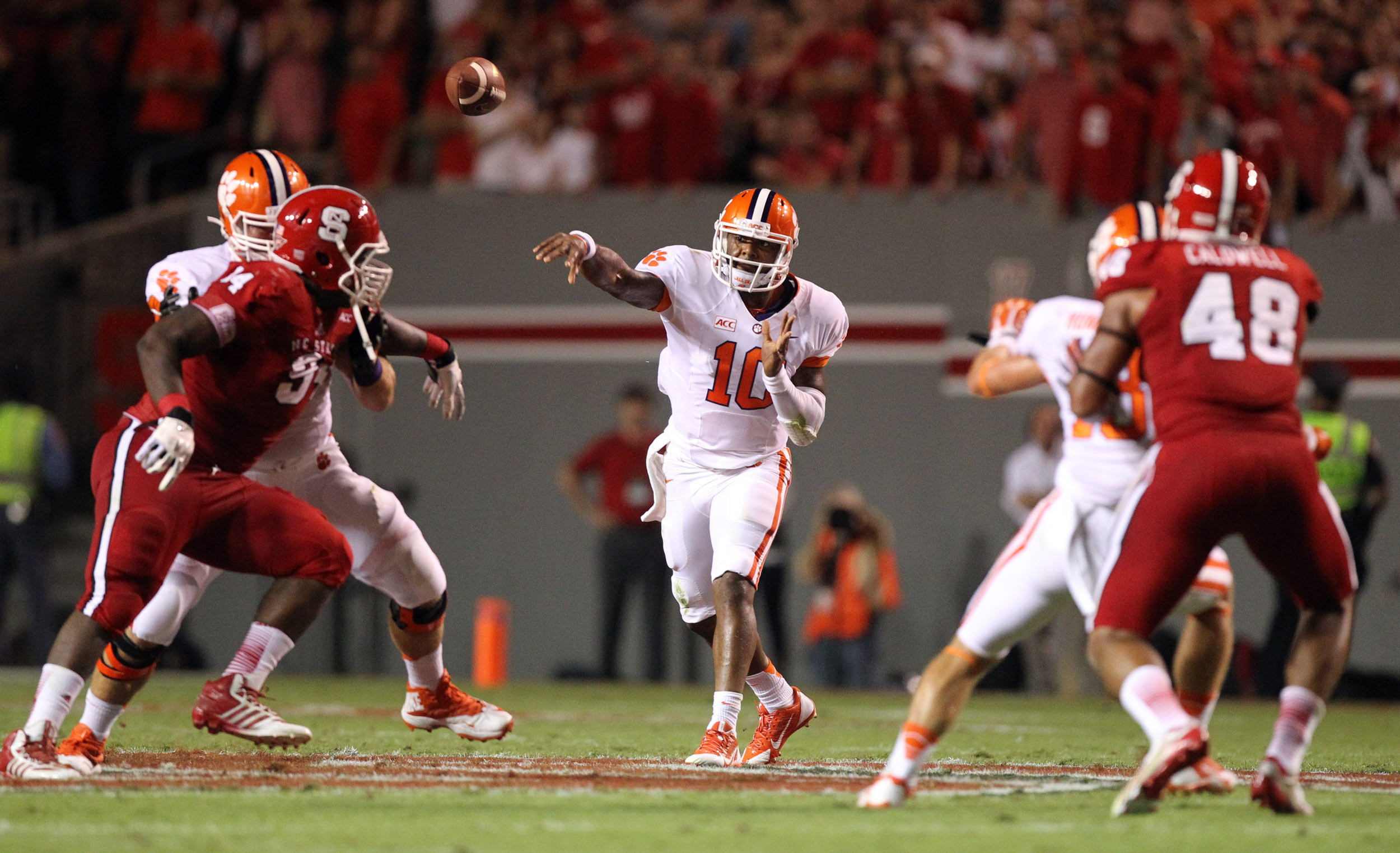 Clemson-Syracuse Football Game Television Coverage Details